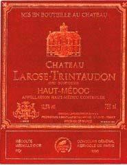 Etiquette Larose Trintaudon
