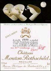 Château Mouton Rothschild 1986