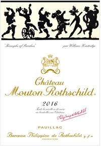 Château Mouton Rothschild 2016