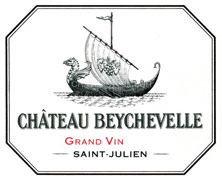 Château Beychevelle price by vintage