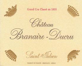 Etiquette Branaire Ducru