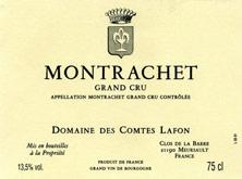 Montrachet Grand Cru Comtes Lafon (Domaine des)