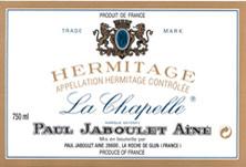 Hermitage La Chapelle Paul Jaboulet Ainé 1961