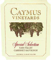 Rutherford Caymus - Special Selection