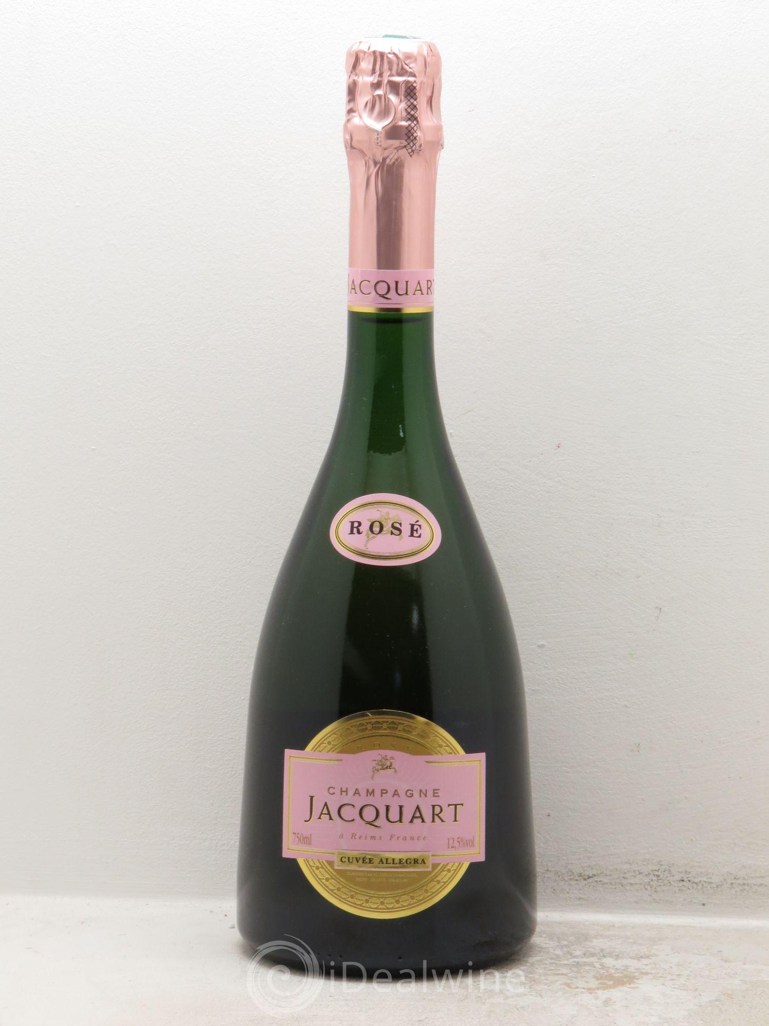 acheter brut champagne jacquart cuv e allegra sans prix de r serve lot 1500. Black Bedroom Furniture Sets. Home Design Ideas