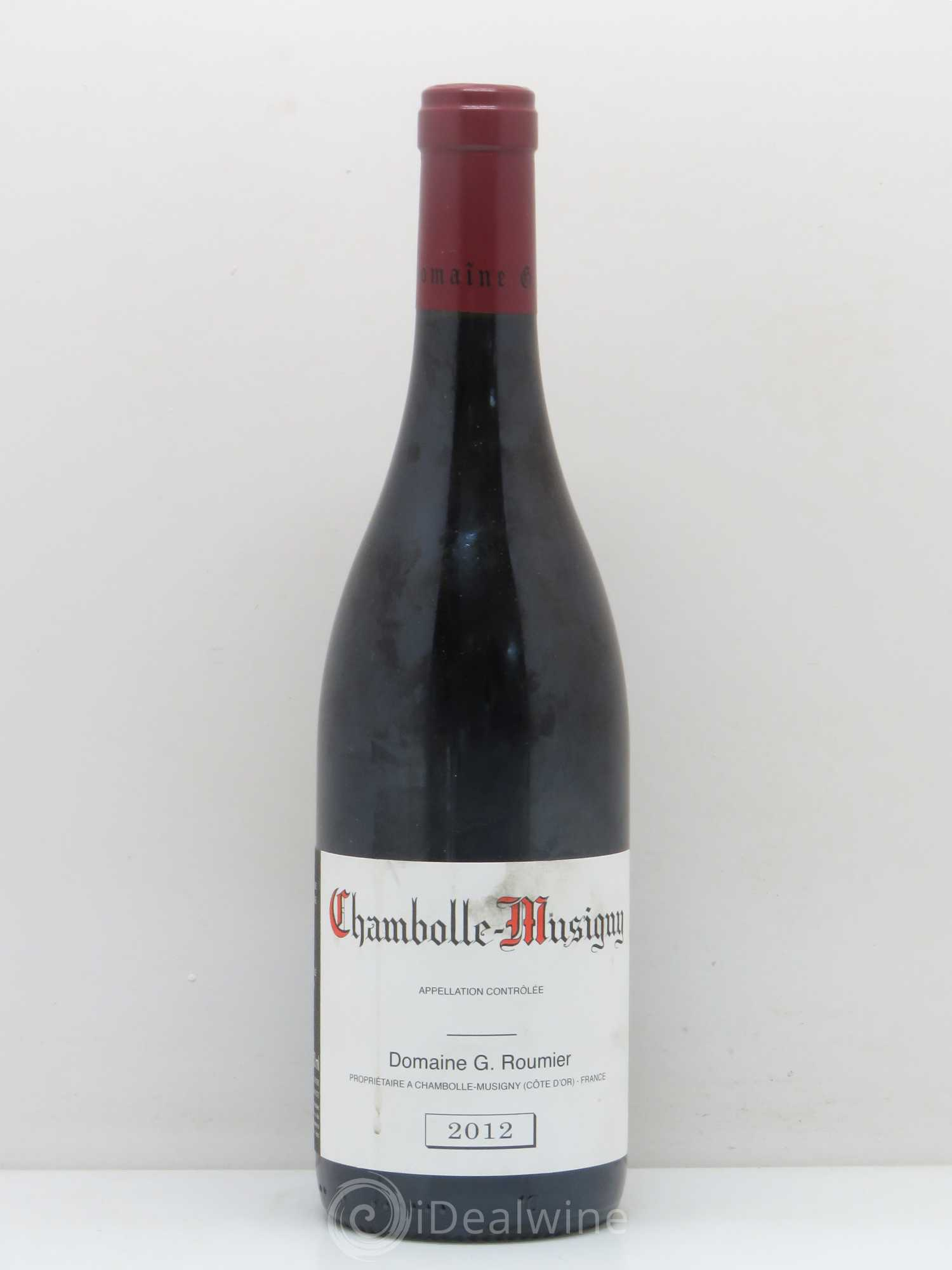 Chambolle-Musigny G. Roumier - Christophe Roumier (Domaine)  2012 - Lot de 1 Bouteille