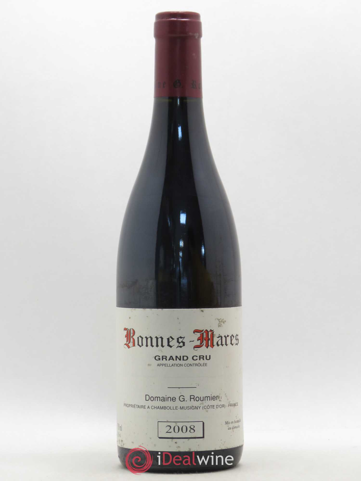 Bonnes-Mares Grand Cru Georges Roumier (Domaine)  2008 - Lot of 1 Bottle