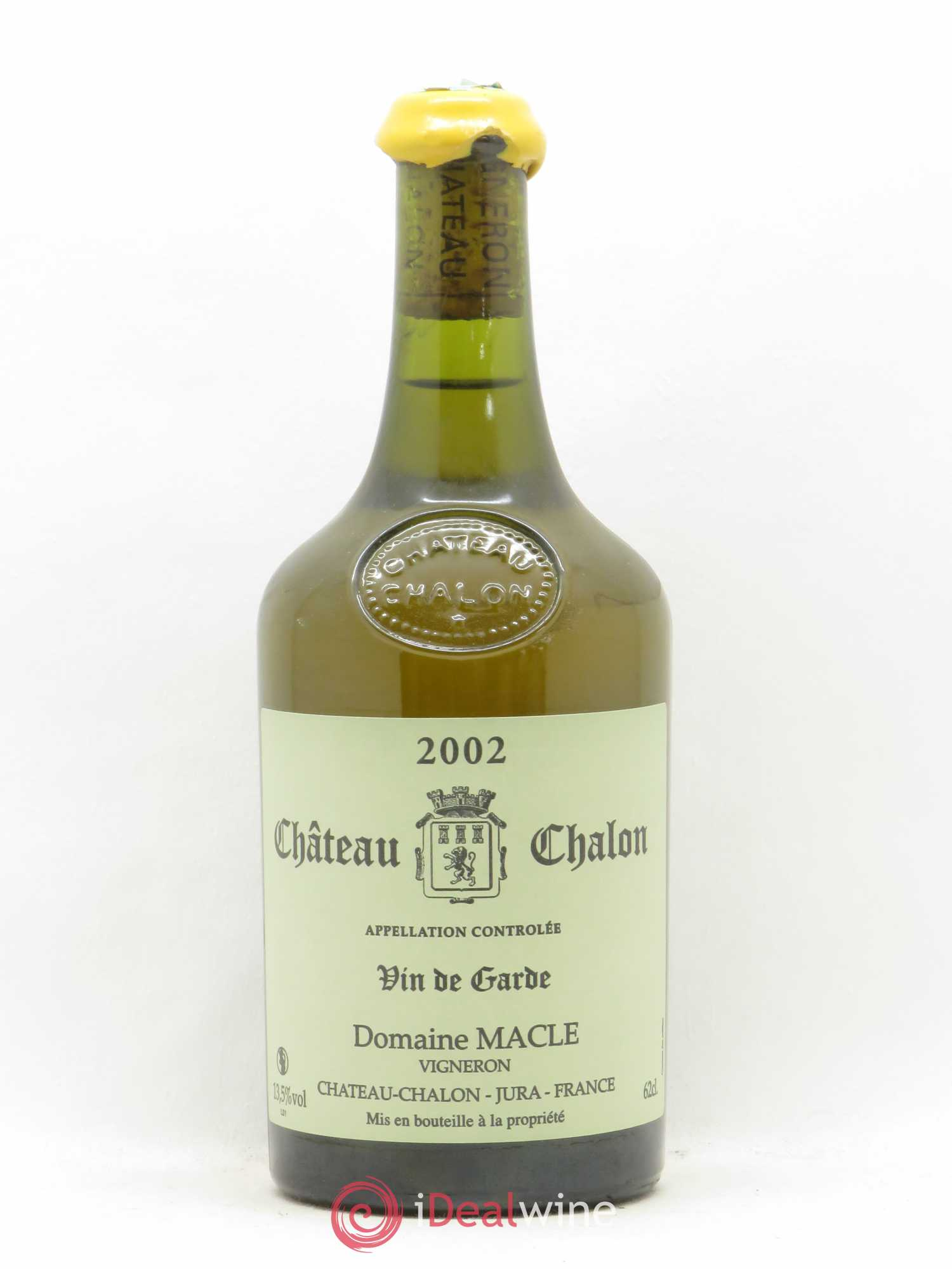 Château-Chalon Jean Macle  2002 - Lot of 1 Bottle