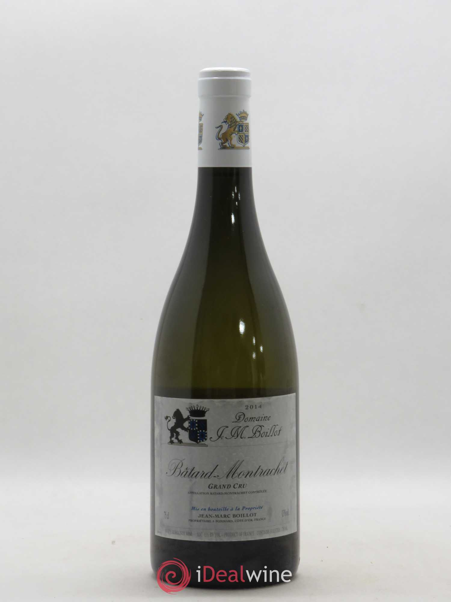Bâtard-Montrachet Grand Cru Jean-Marc Boillot  2014 - Lot of 1 Bottle