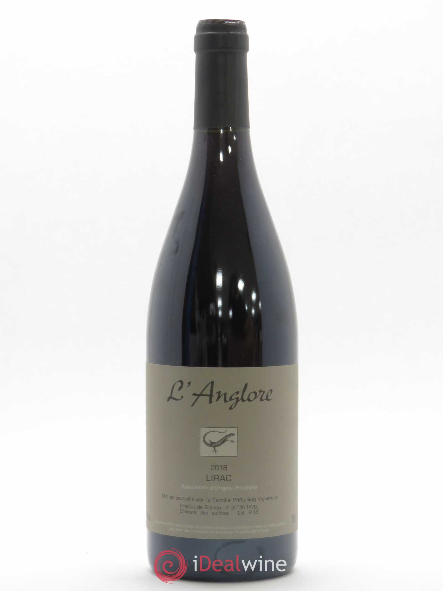 Lirac L'Anglore (no reserve) 2018 - Lot of 1 Bottle