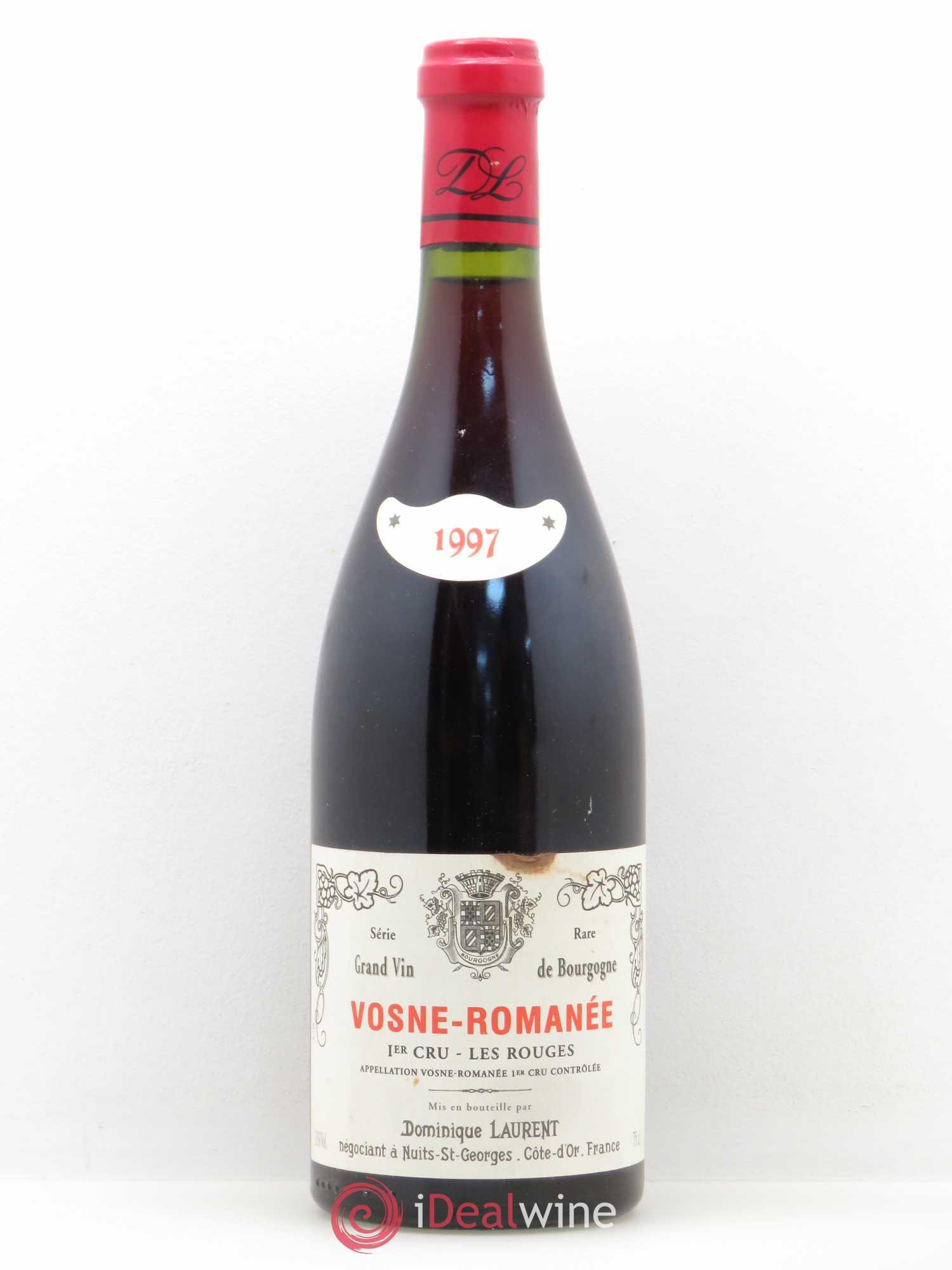 Vosne-Romanée 1er Cru Les Rouges Série Rare DSominique Laurent 1997