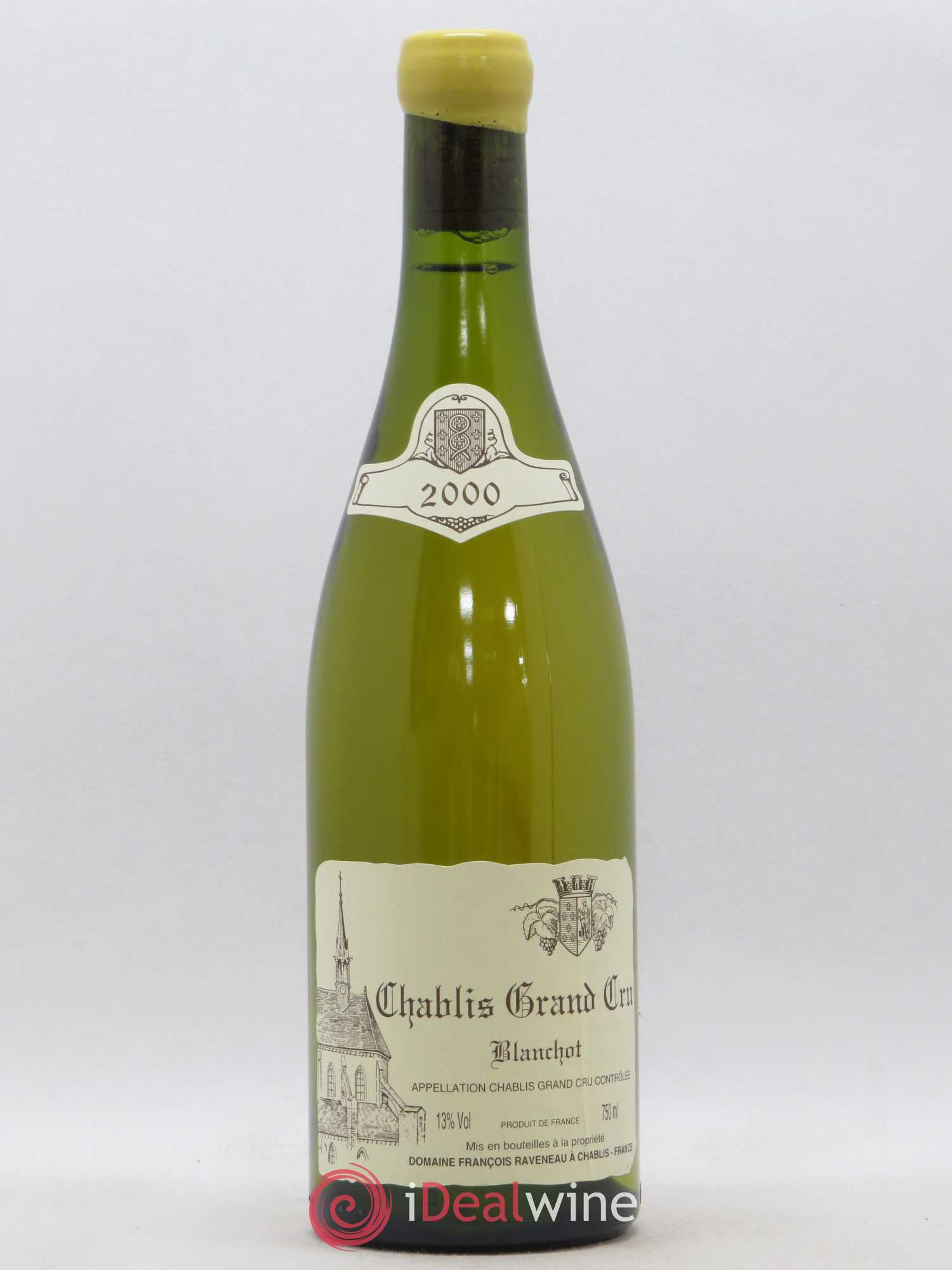 Chablis Grand Cru Blanchot Raveneau (Domaine)  2000 - Lot of 1 Bottle