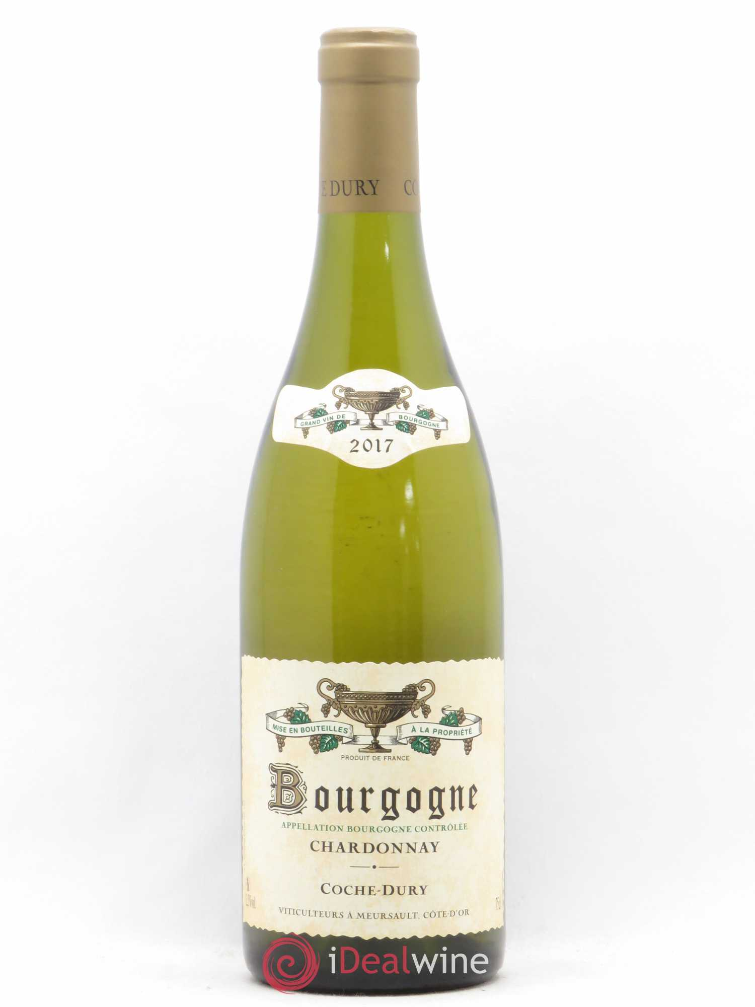 Bourgogne Chardonnay Coche Dury (Domaine) (no reserve) 2017 - Lot of 1 Bottle