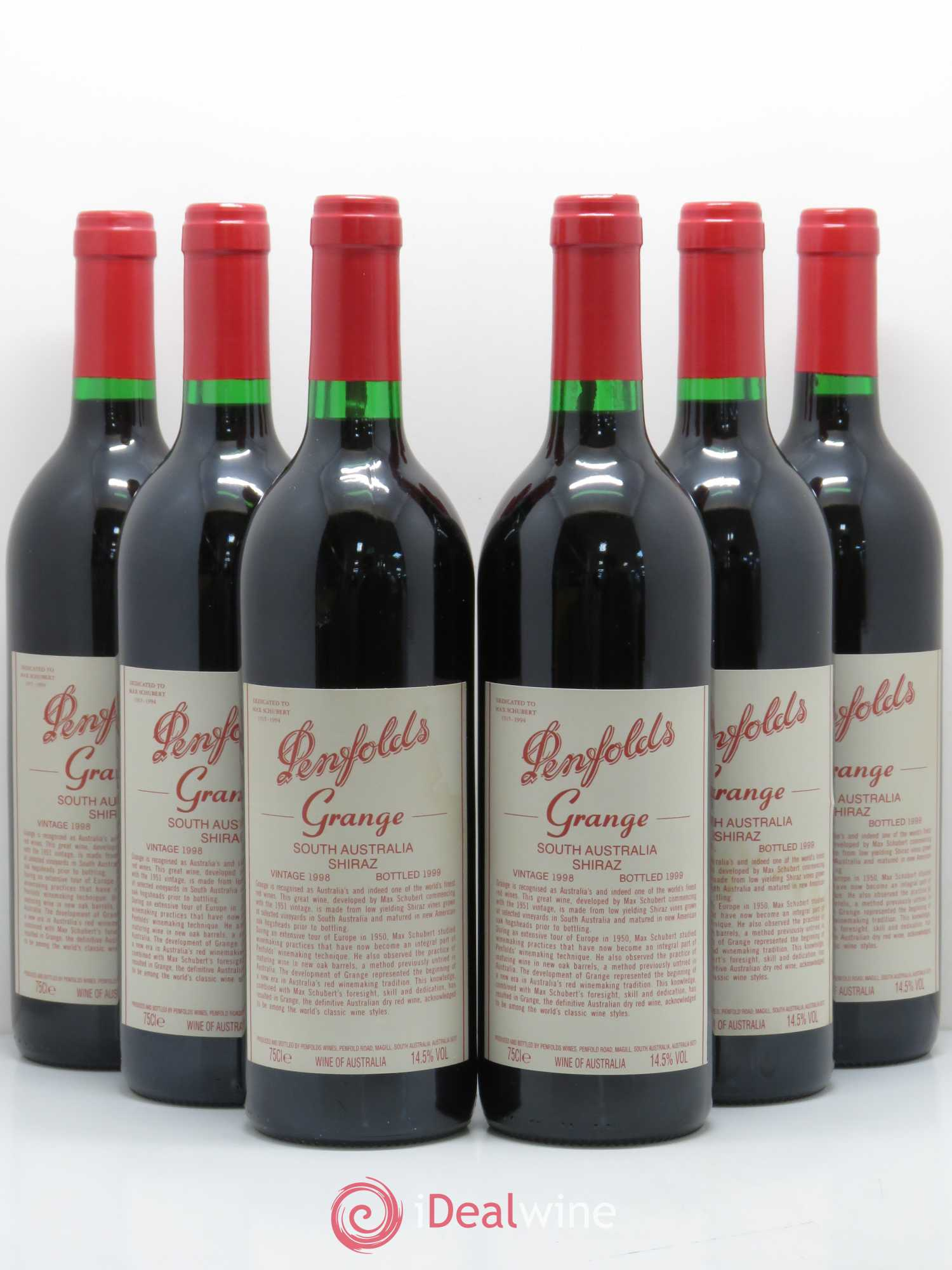 Buy Barossa Valley Penfolds Wines Penfold S Grange Penfolds Wines