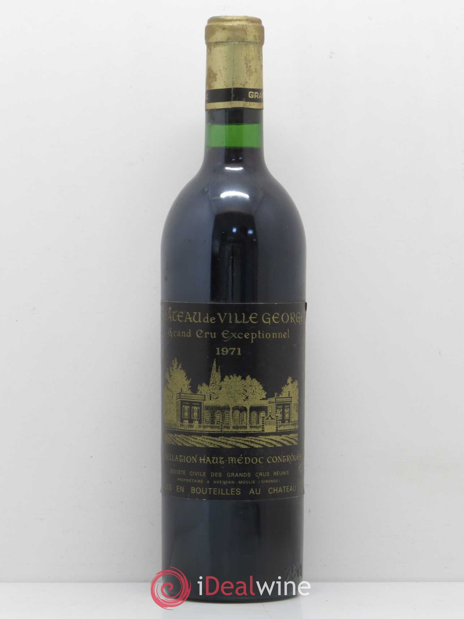 Château Villegeorge Cru Bourgeois  1971 - Lot of 1 Bottle