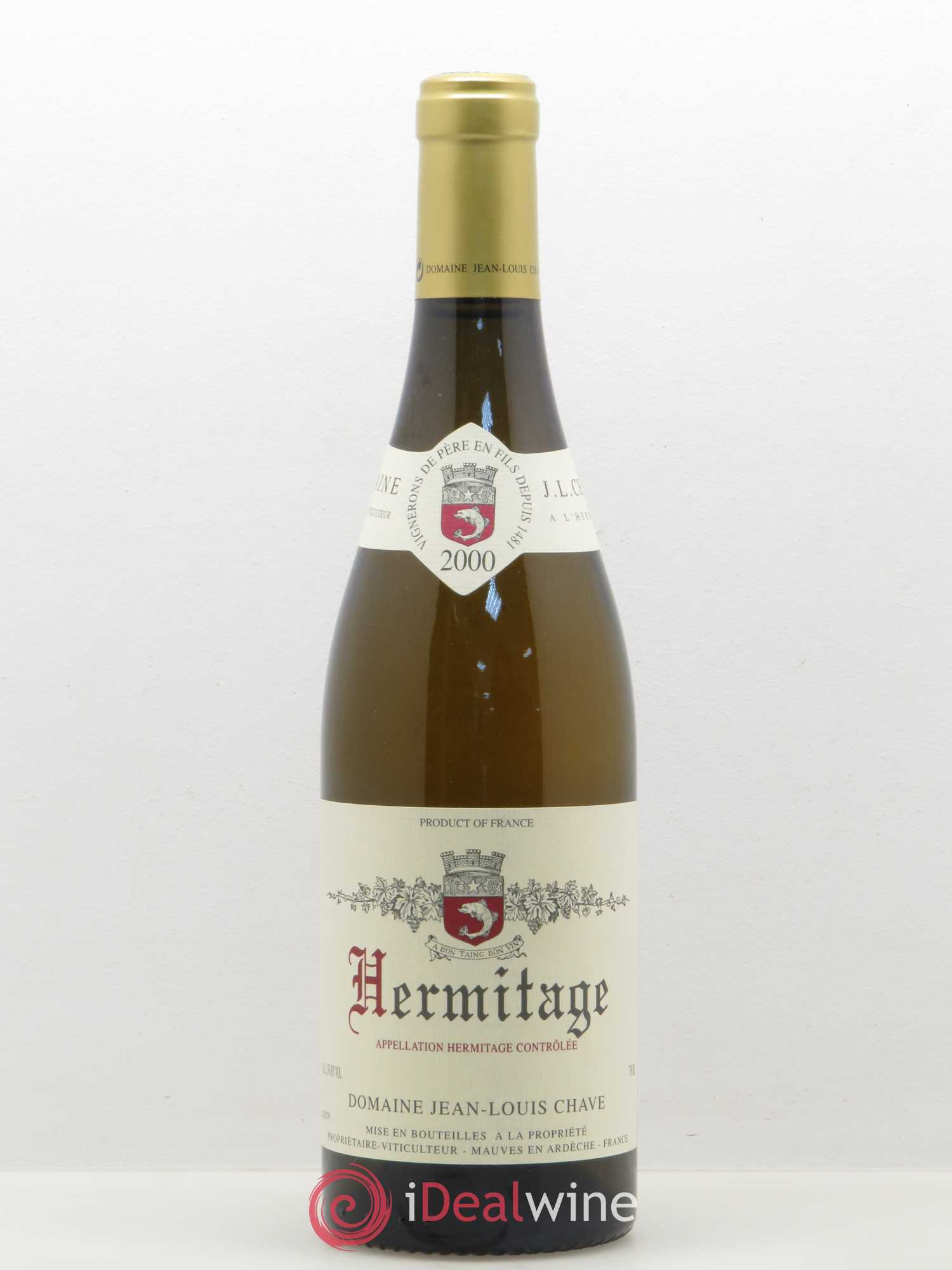 Hermitage Jean-Louis Chave  2000 - Lot of 1 Bottle