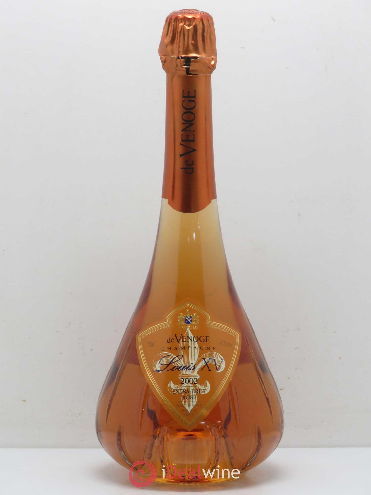 Acheter Brut Champagne De Venoge Cuvée Louis XV Extra Brut 2002 (lot ...