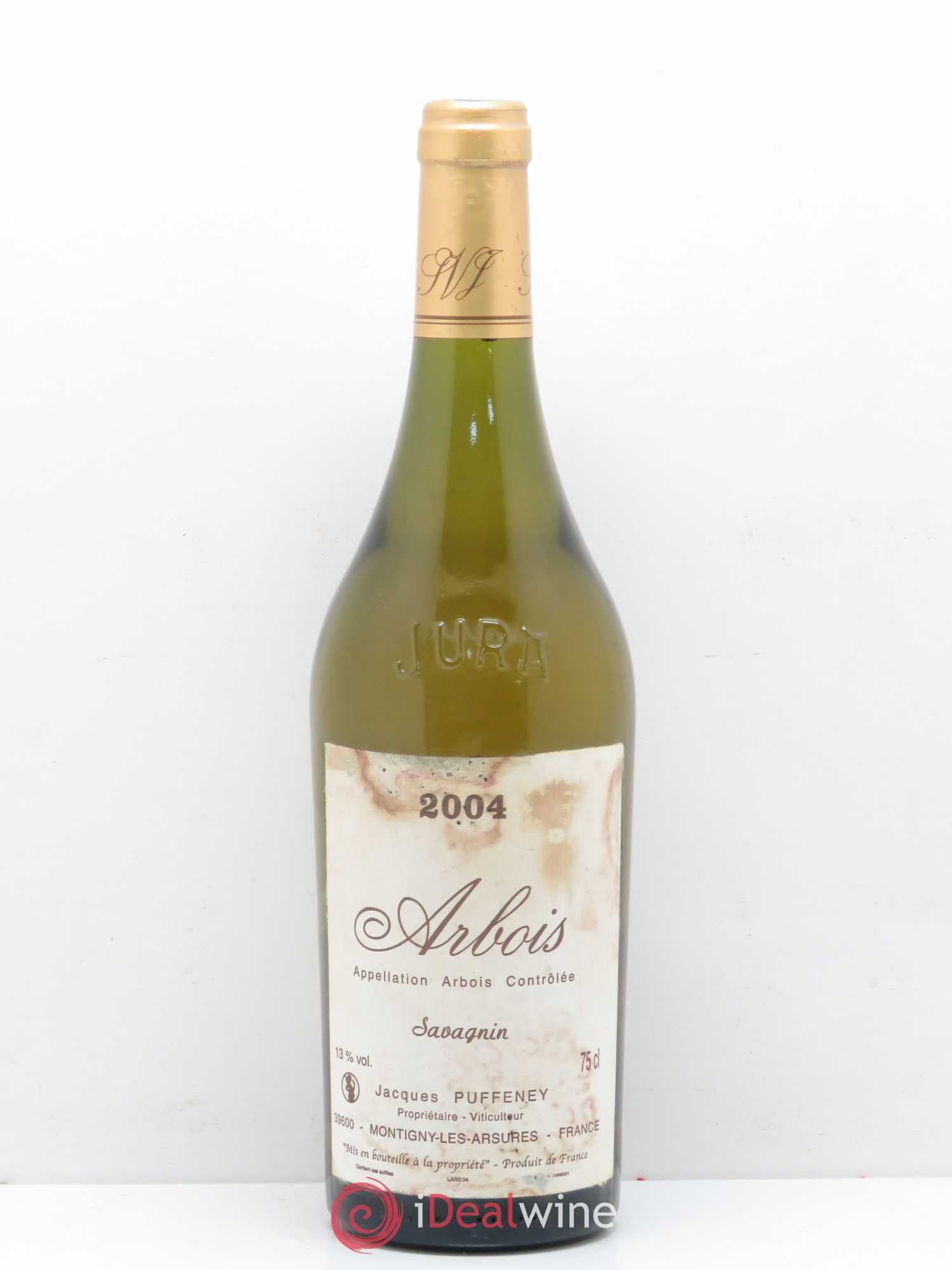 Arbois Savagnin Jacques Puffeney 2004 - Lot de 1 Bouteille