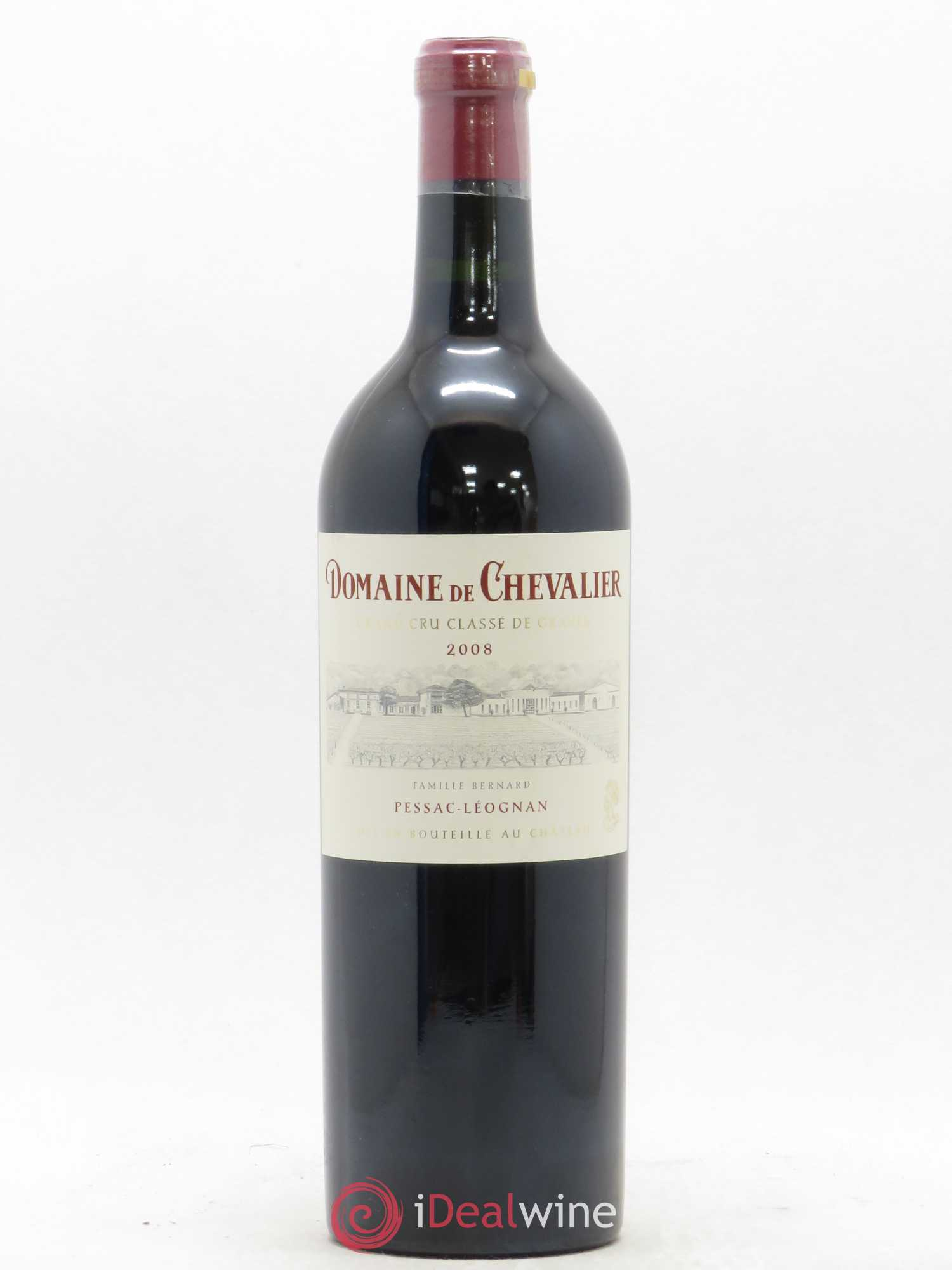 Domaine de Chevalier Cru Classé de Graves  2008 - Lot of 1 Bottle