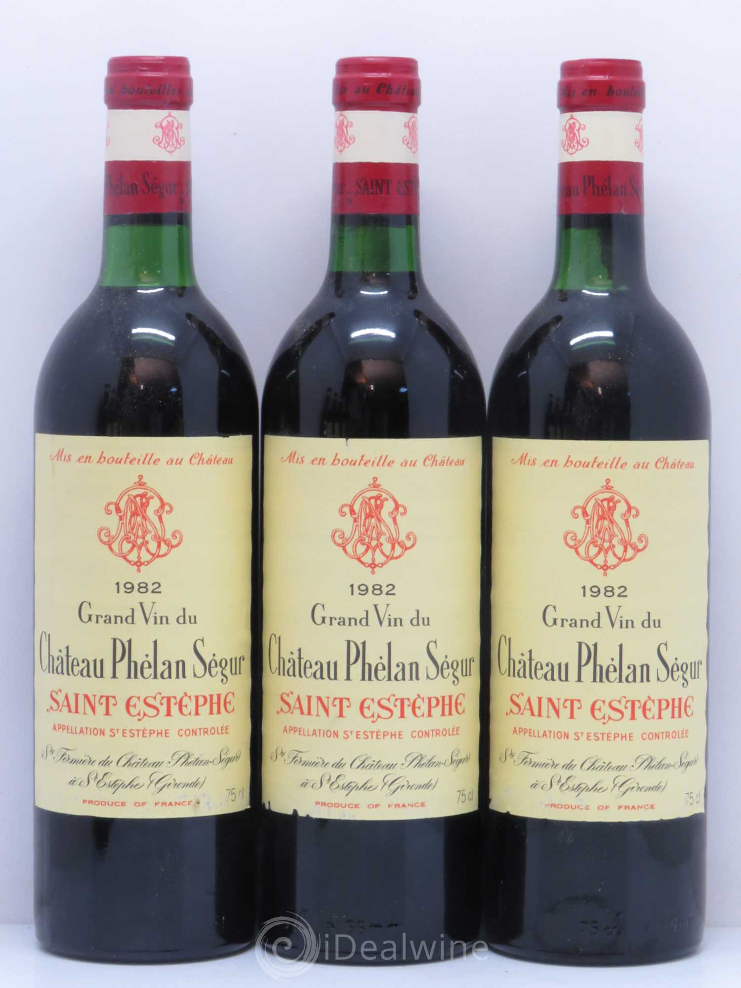 Buy ch teau ph lan s gur 1982 lot 9103 for Buy chateaubriand