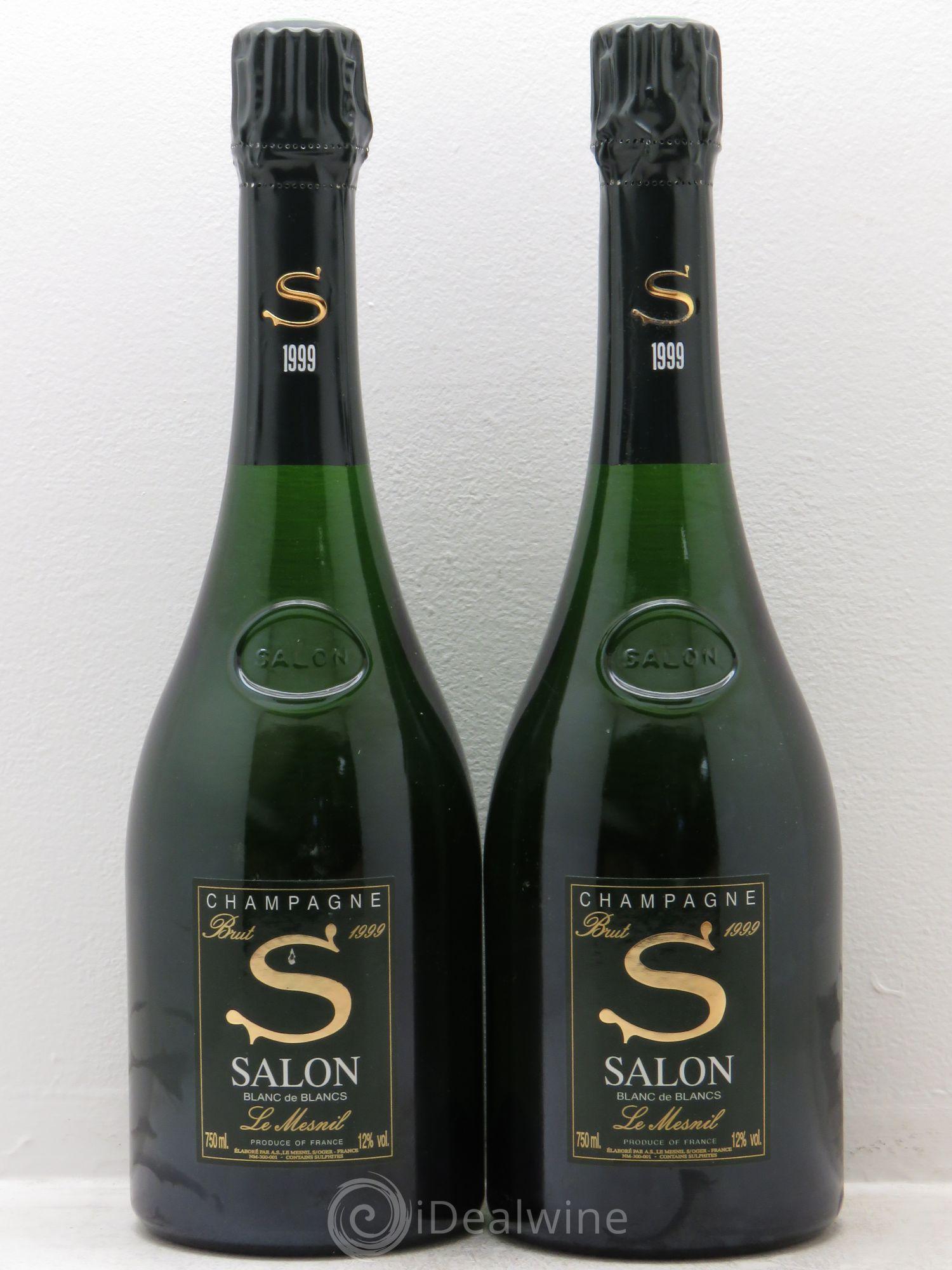 Cuvée S Salon 1999   Lot Of 2 Bottles