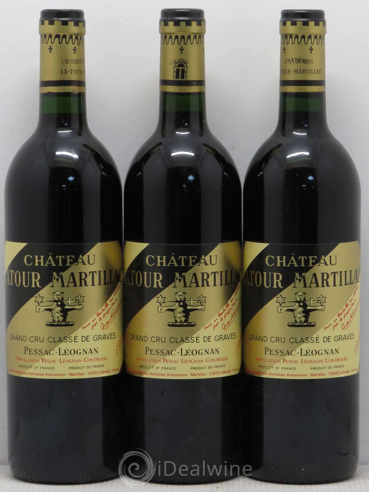 Buy ch teau latour martillac cru class de graves 1989 for Buy chateaubriand