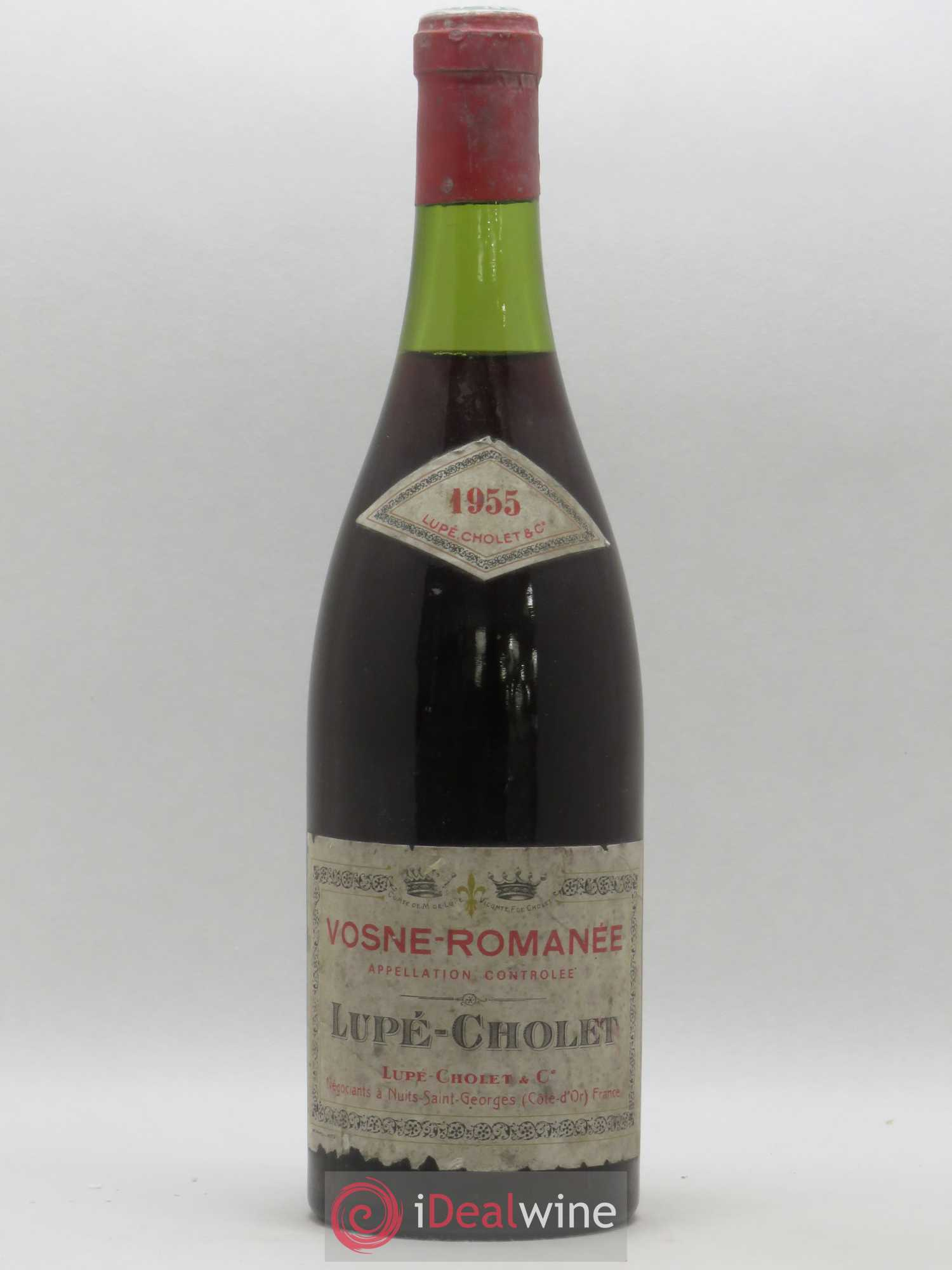 Vosne-Romanée Lupé Cholet 1955 - Lot of 1 Bottle