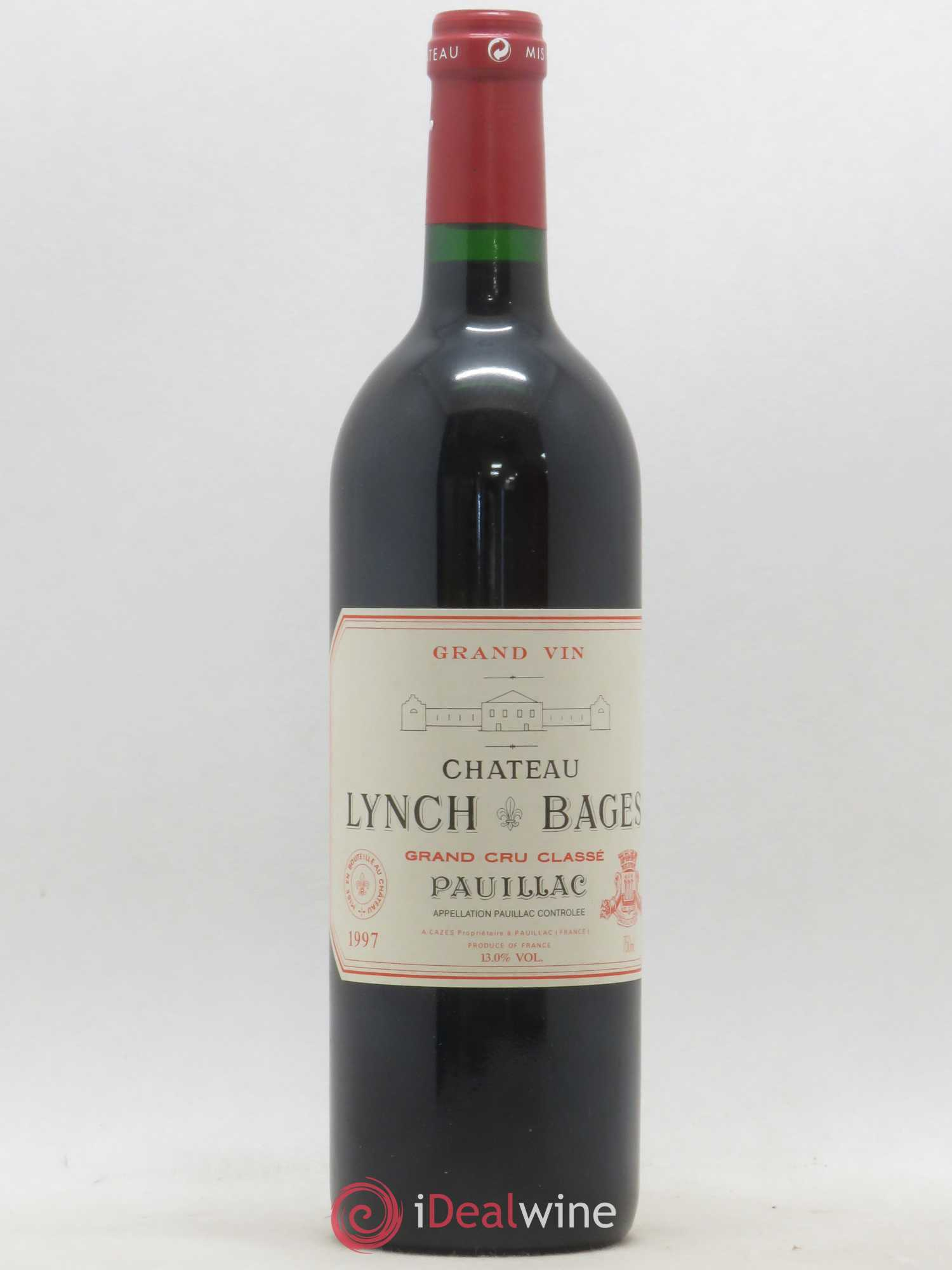 Château Lynch Bages 5ème Grand Cru Classé  1997 - Lot of 1 Bottle