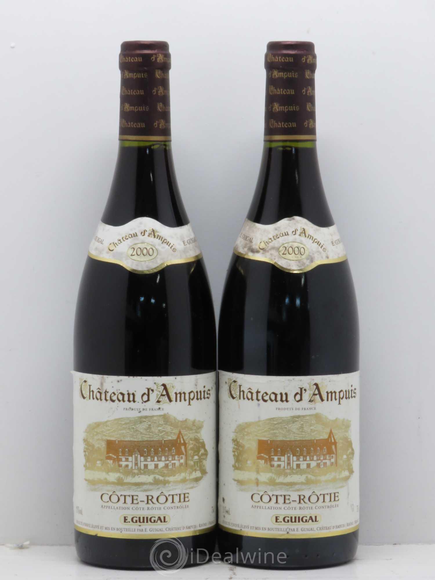 Acheter c te r tie ch teau d 39 ampuis guigal 2000 lot 8588 - Salon des vins ampuis ...