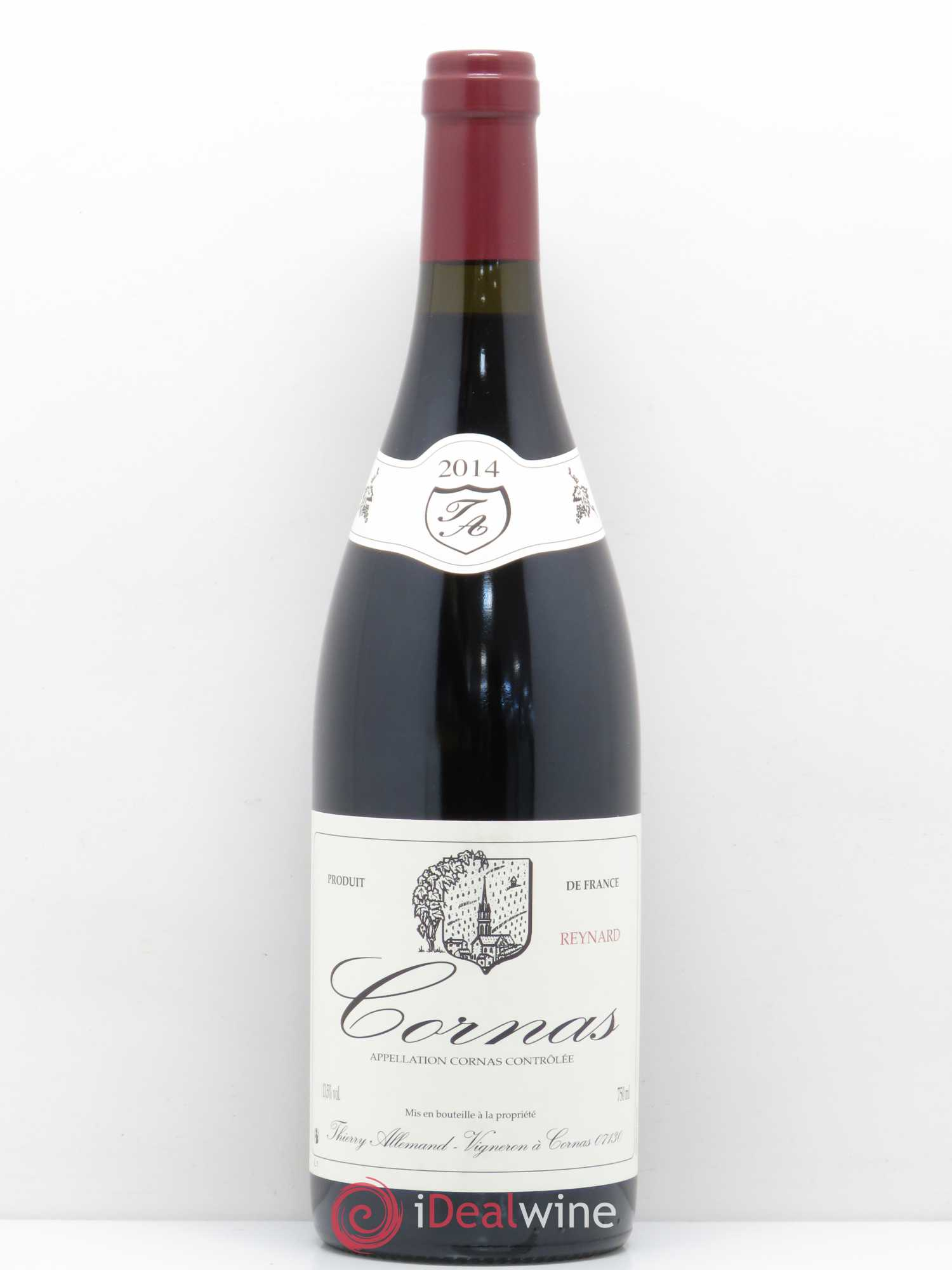 Cornas Reynard Thierry Allemand  2014 - Lot of 1 Bottle
