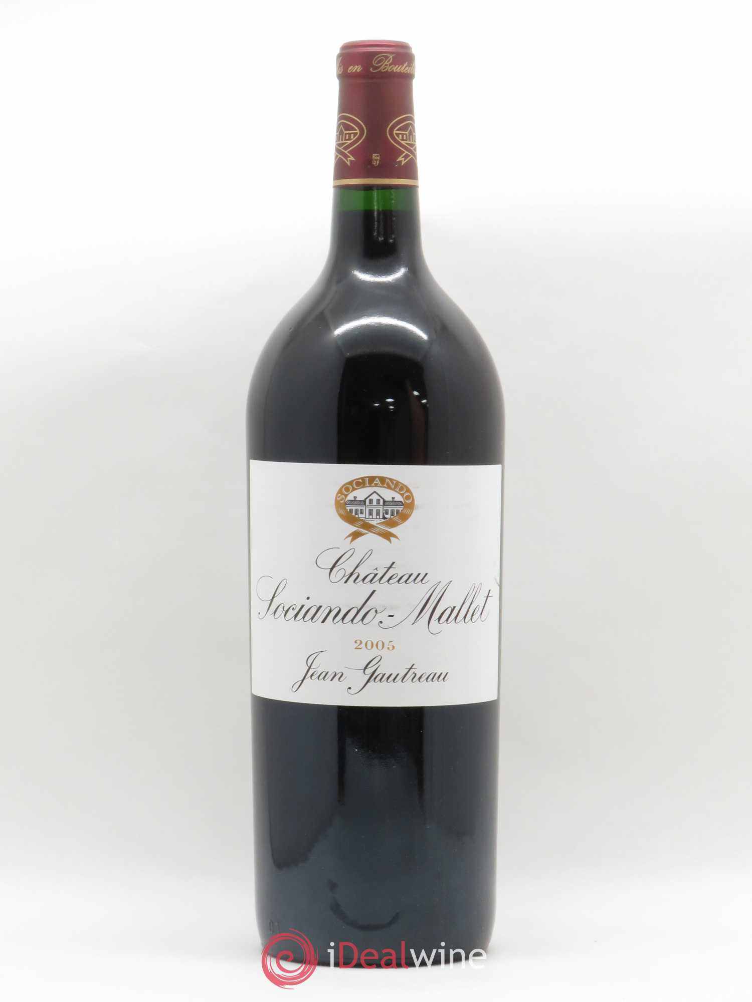 Château Sociando Mallet  2005 - Lot of 1 Magnum