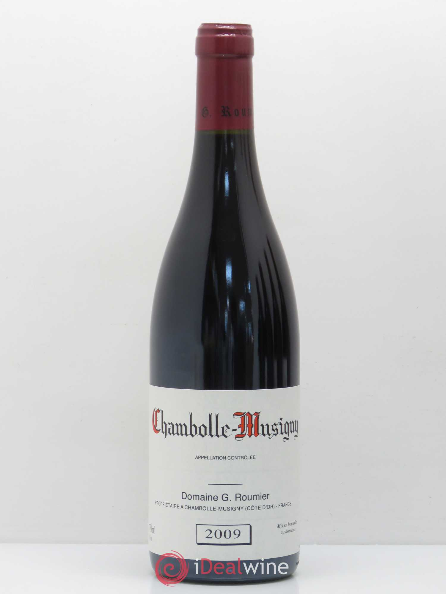 Chambolle-Musigny Georges Roumier (Domaine)  2009 - Lot de 1 Bouteille