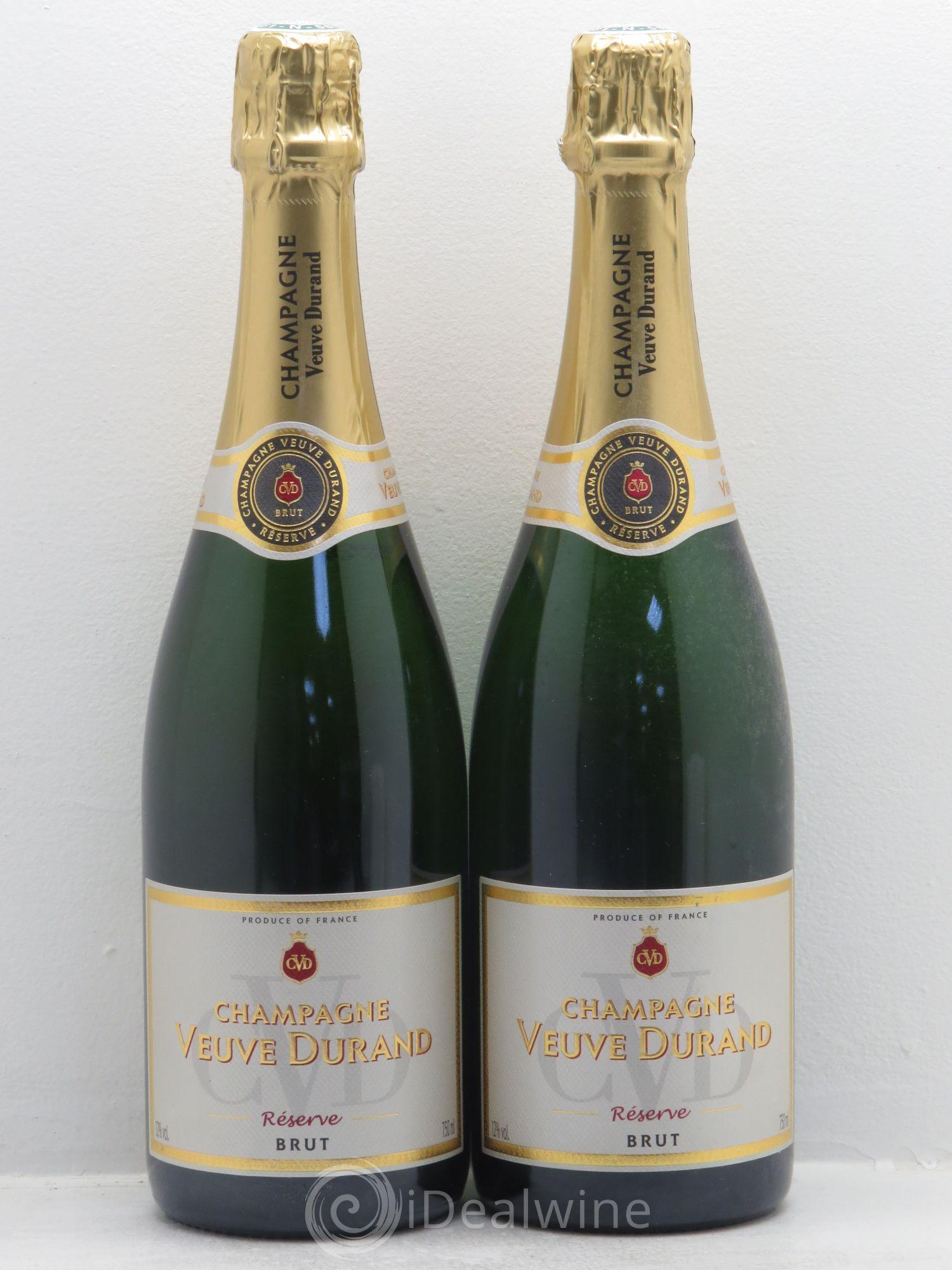 champagne veuve durand