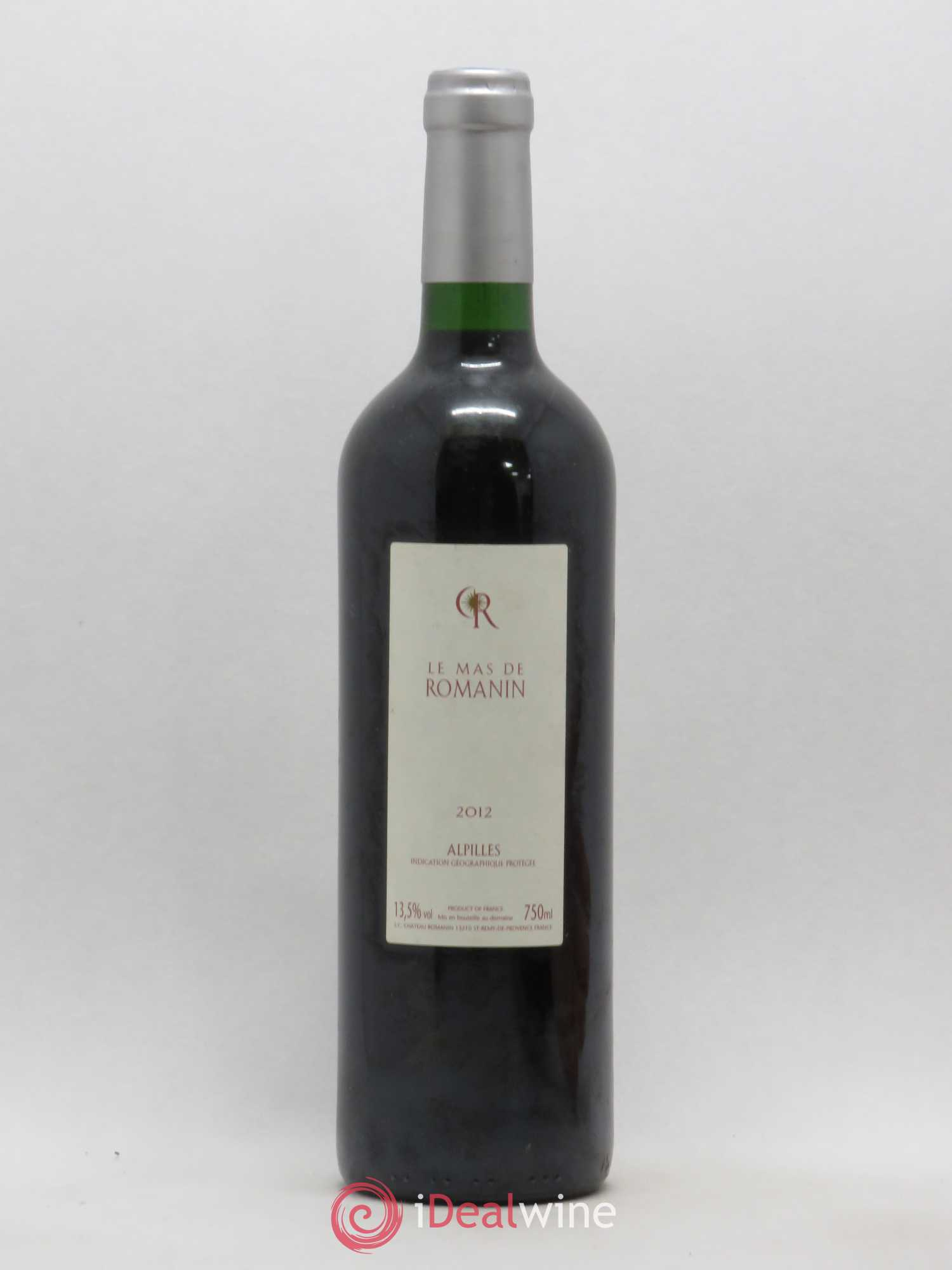 IGP Alpilles Le Mas de Romanin Château Romanin (no reserve) 2012 - Lot of 1 Bottle