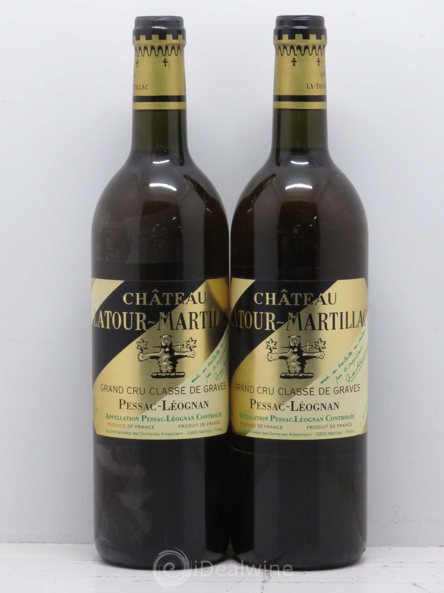 liste des vins de chateau latour martillac en vente idealwine. Black Bedroom Furniture Sets. Home Design Ideas