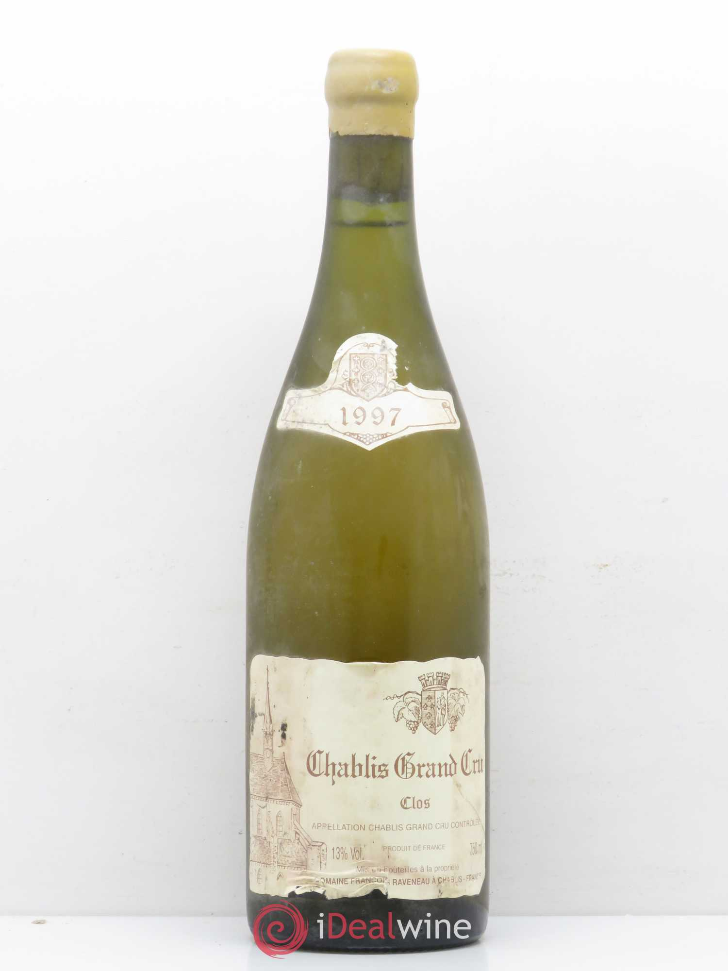 Chablis Grand Cru Les Clos Raveneau (Domaine)  1997 - Lot of 1 Bottle