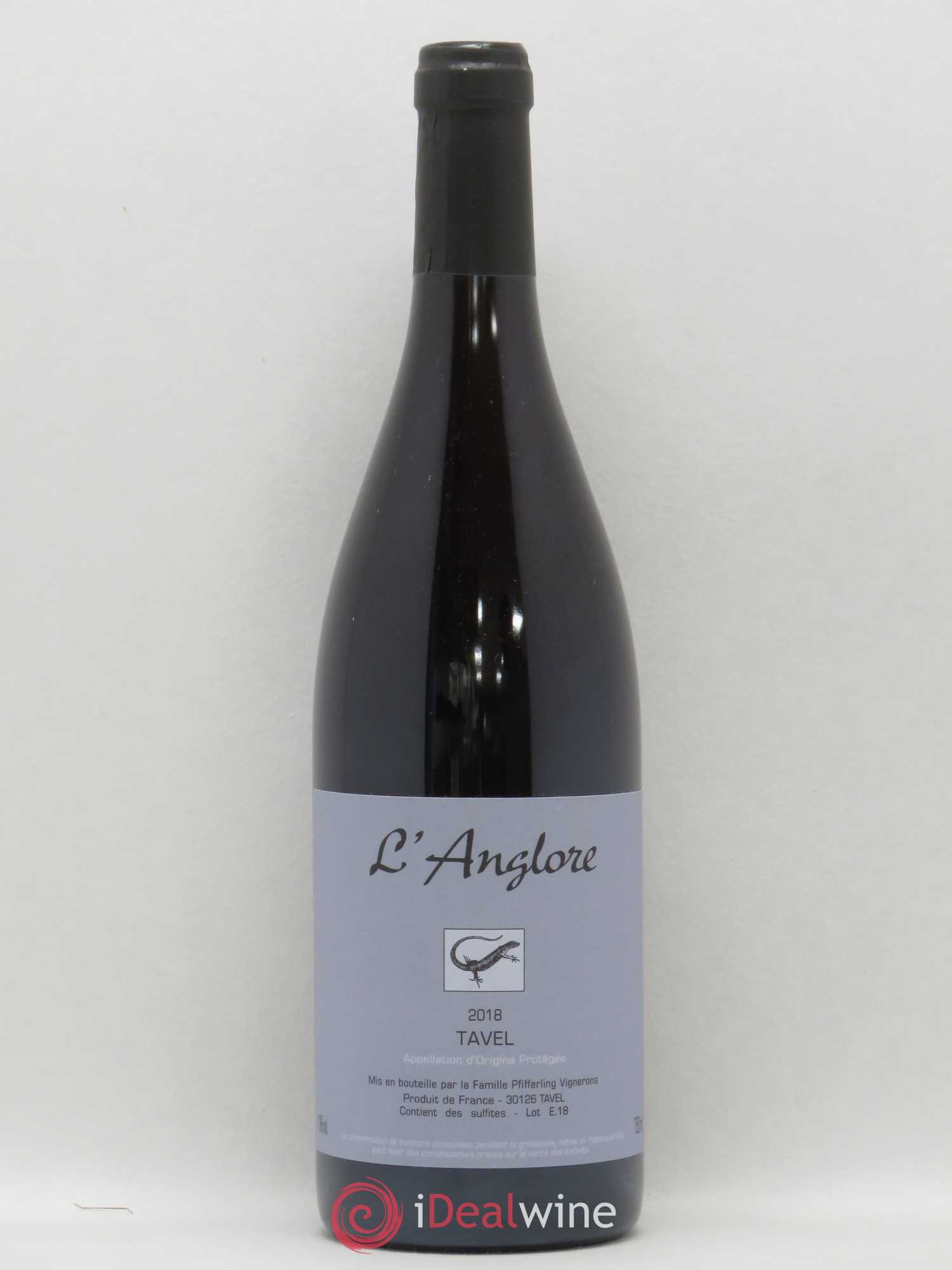 Tavel L'Anglore  2018 - Lot of 1 Bottle