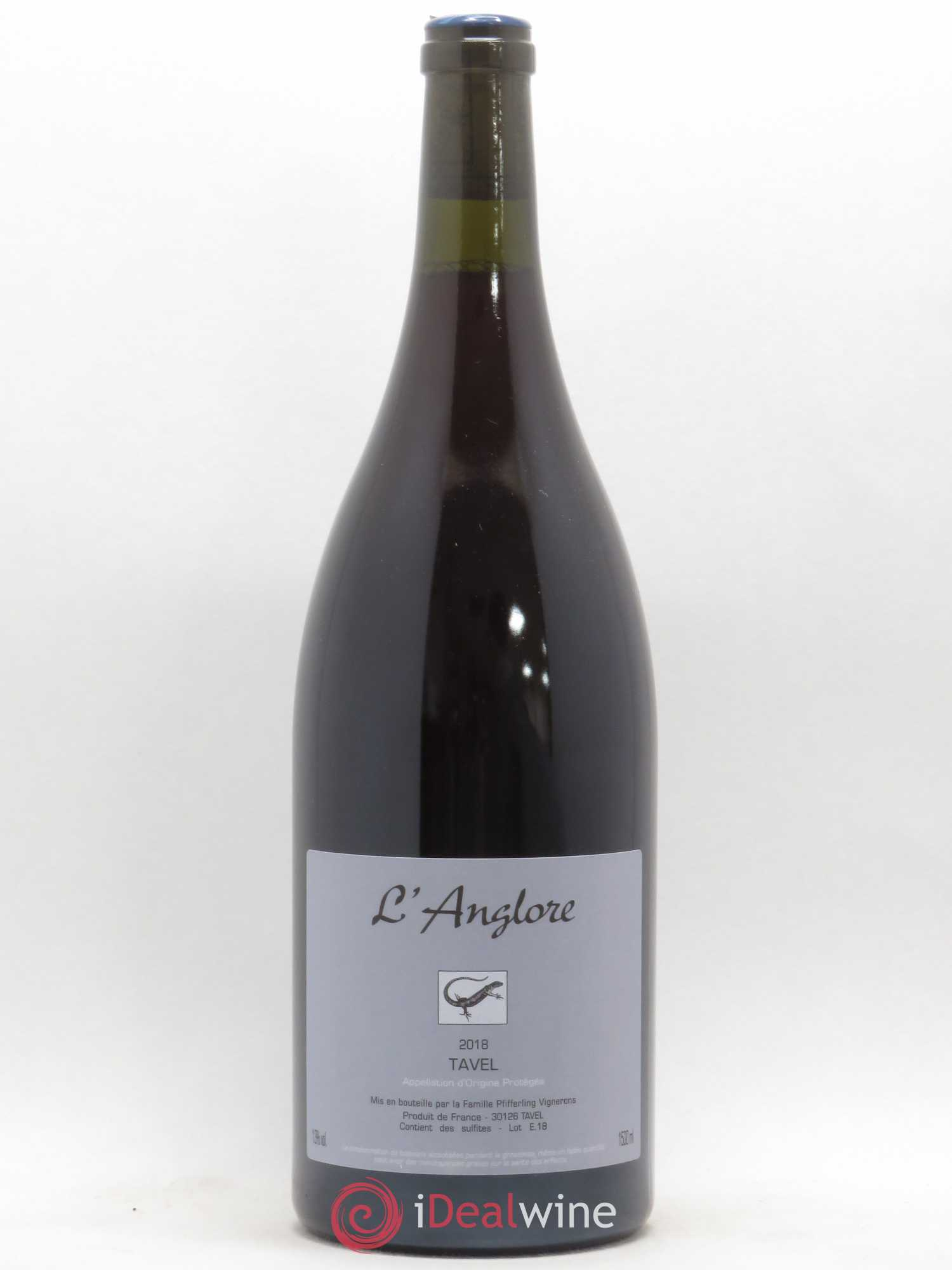 Tavel L'Anglore  2018 - Lot of 1 Magnum