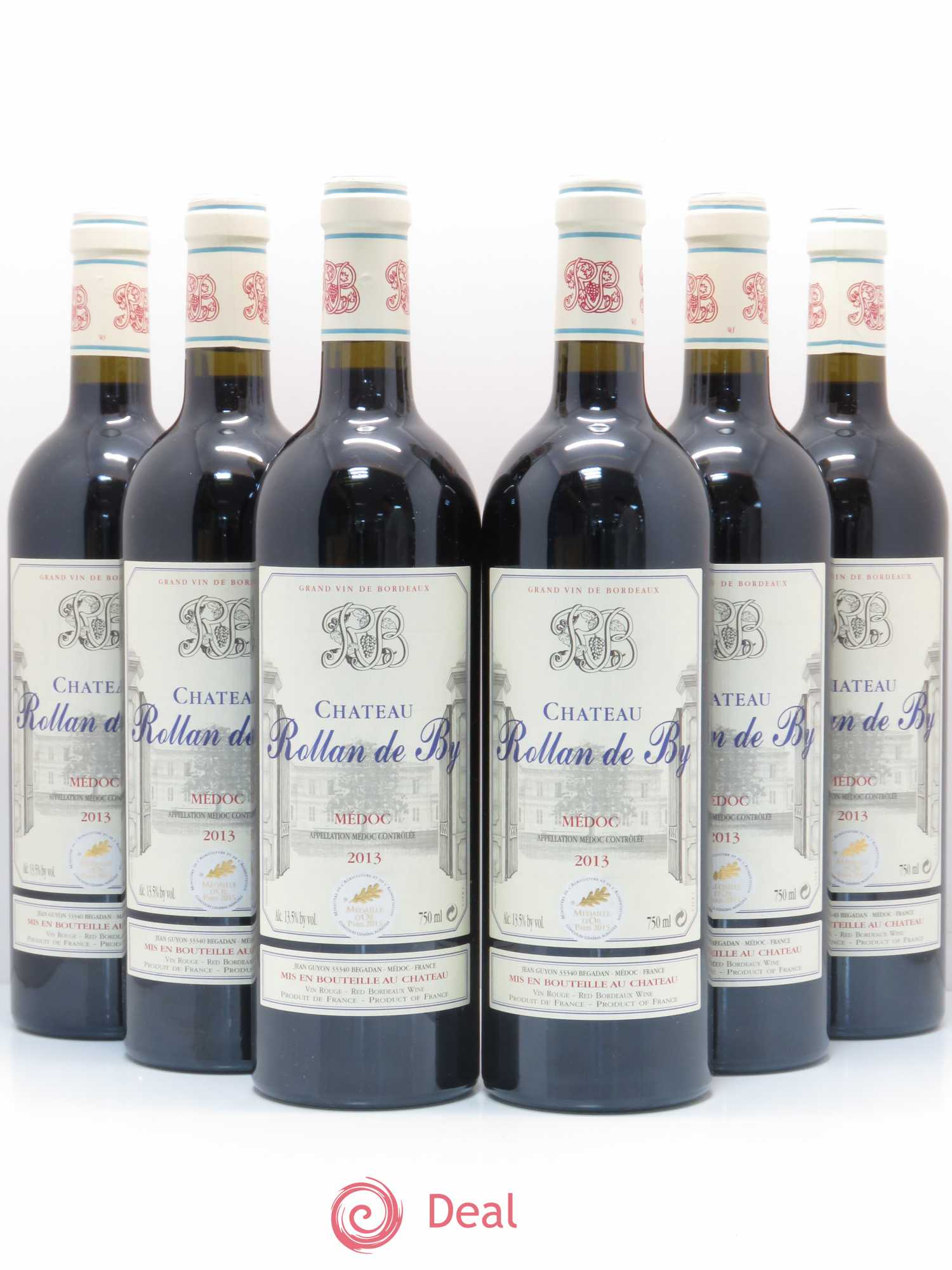 Château Rollan de By Cru Bourgeois (no reserve) 2013 - Lot of 6 Bottles