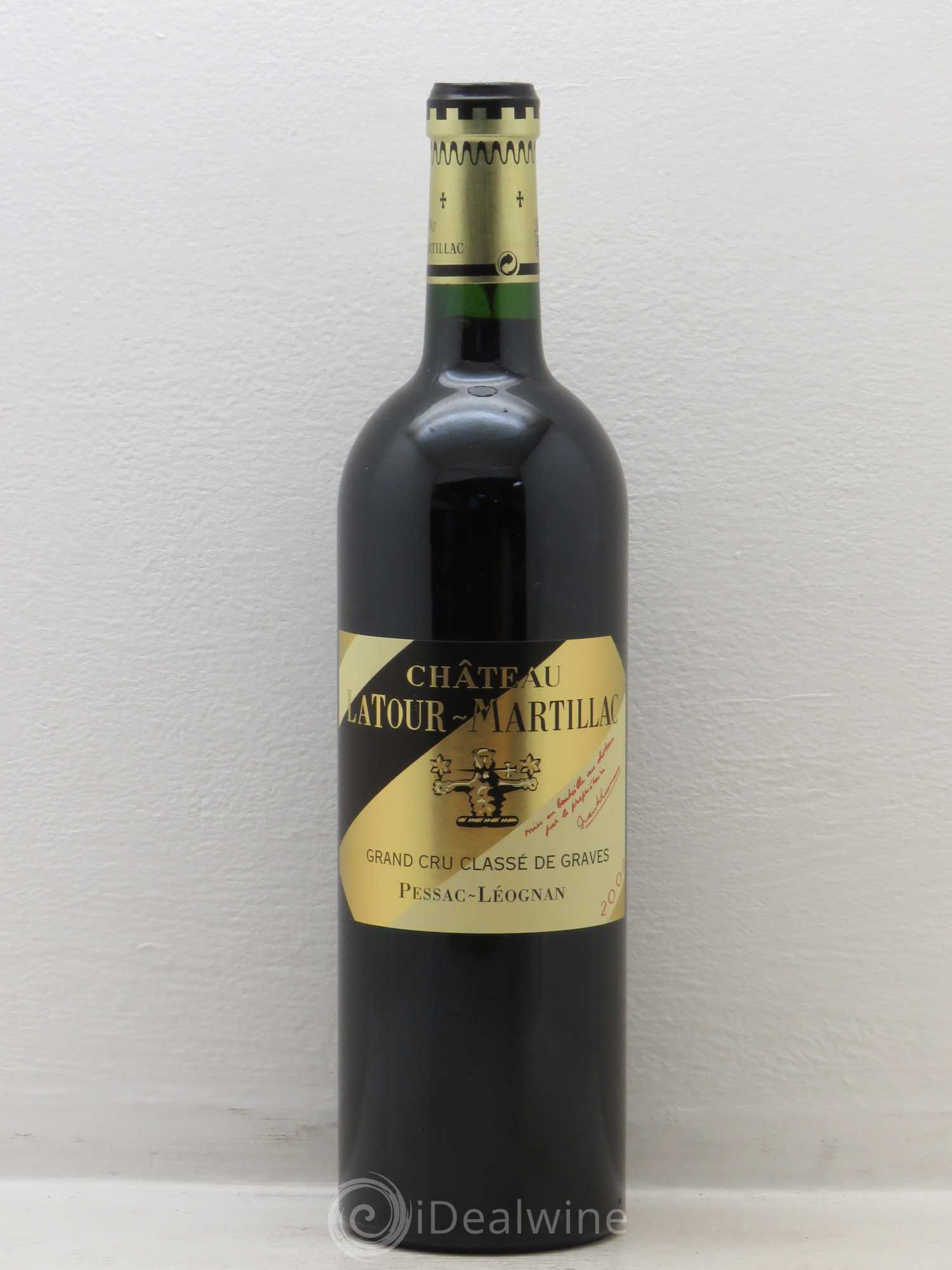 acheter ch teau latour martillac cru class de graves 2008 lot 7049. Black Bedroom Furniture Sets. Home Design Ideas