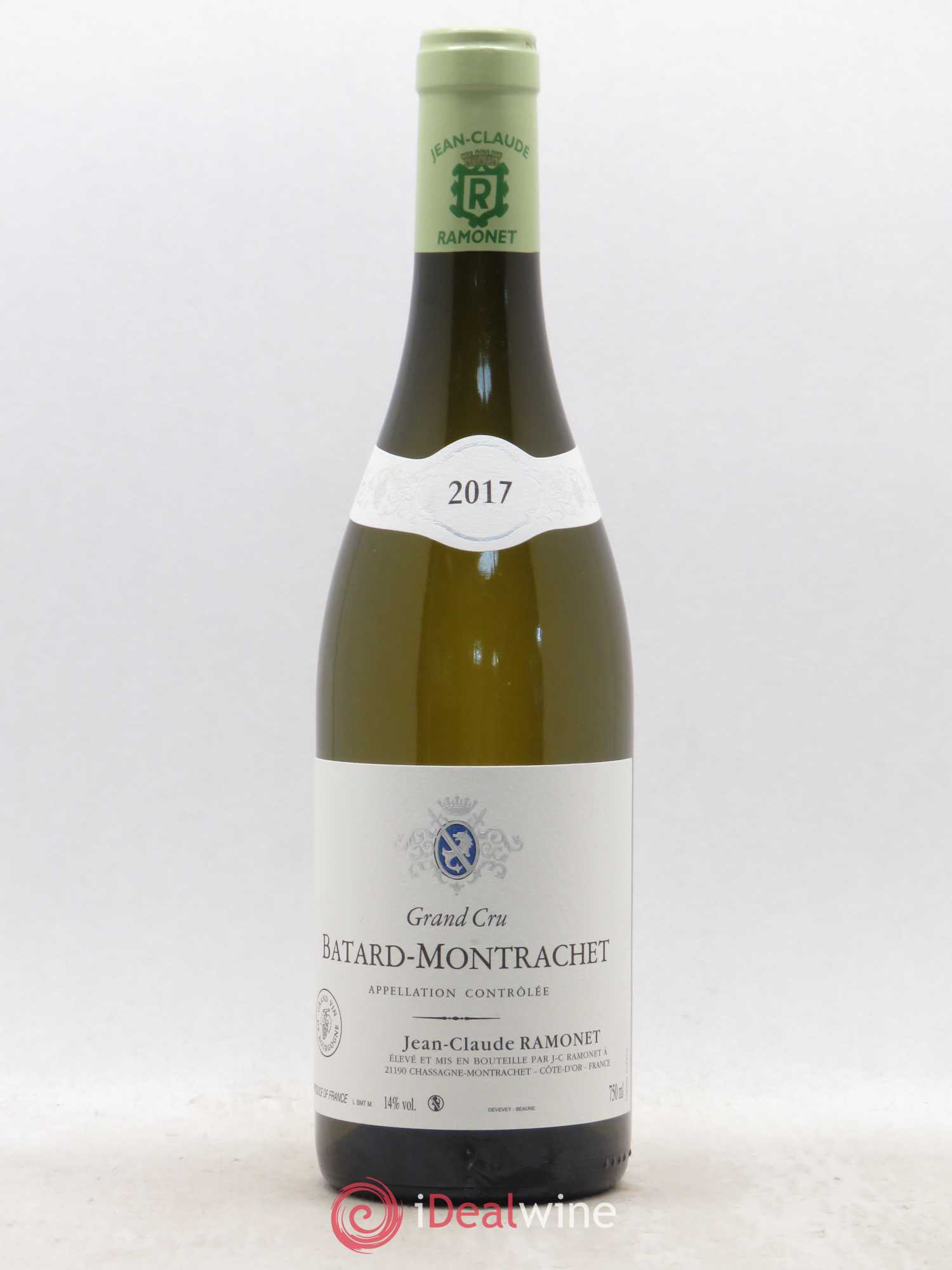 Buy Bâtard Montrachet Grand Cru Ramonet Domaine 2017 Lot 4091
