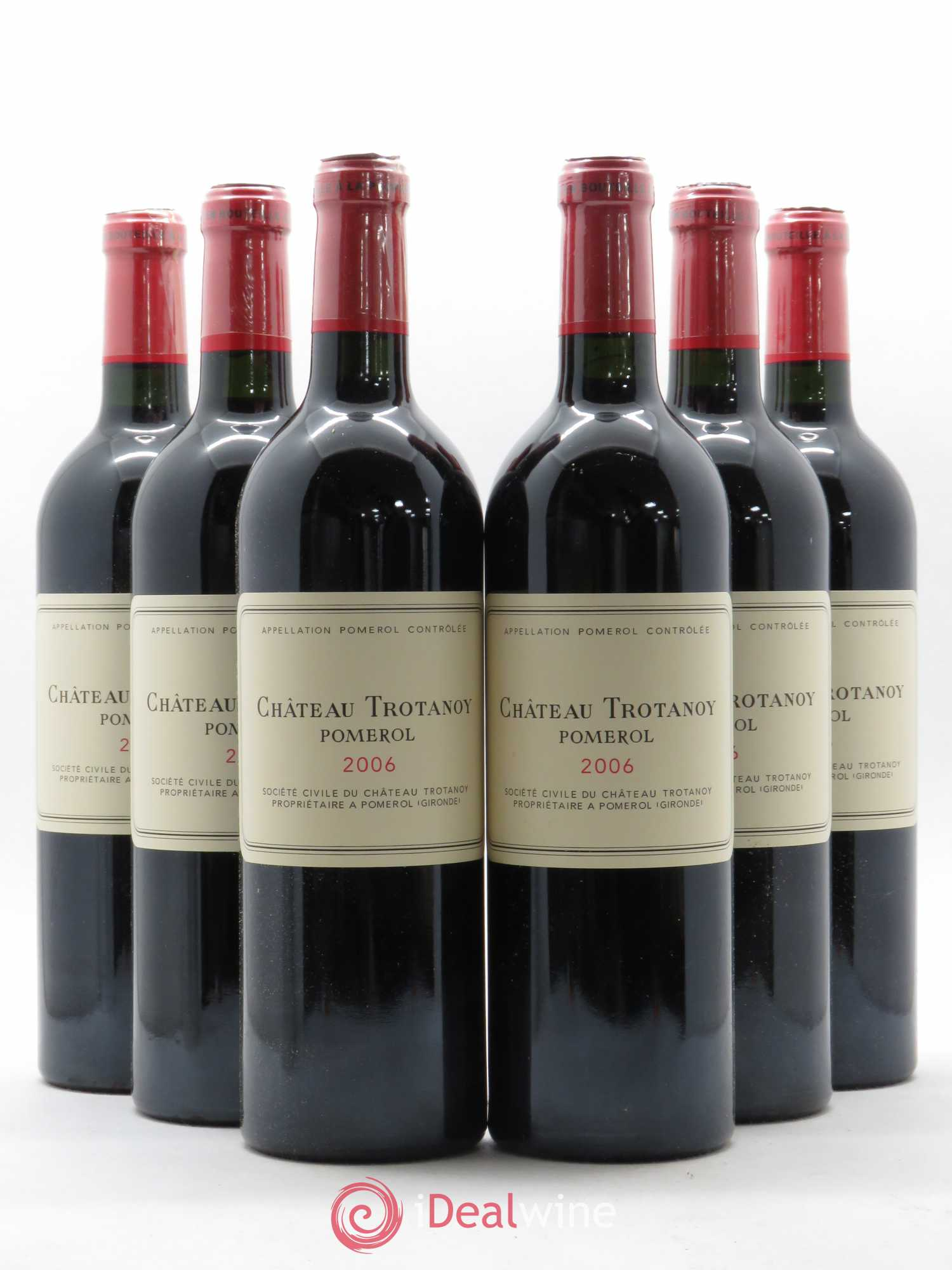 Château Trotanoy  2006 - Lot of 6 Bottles