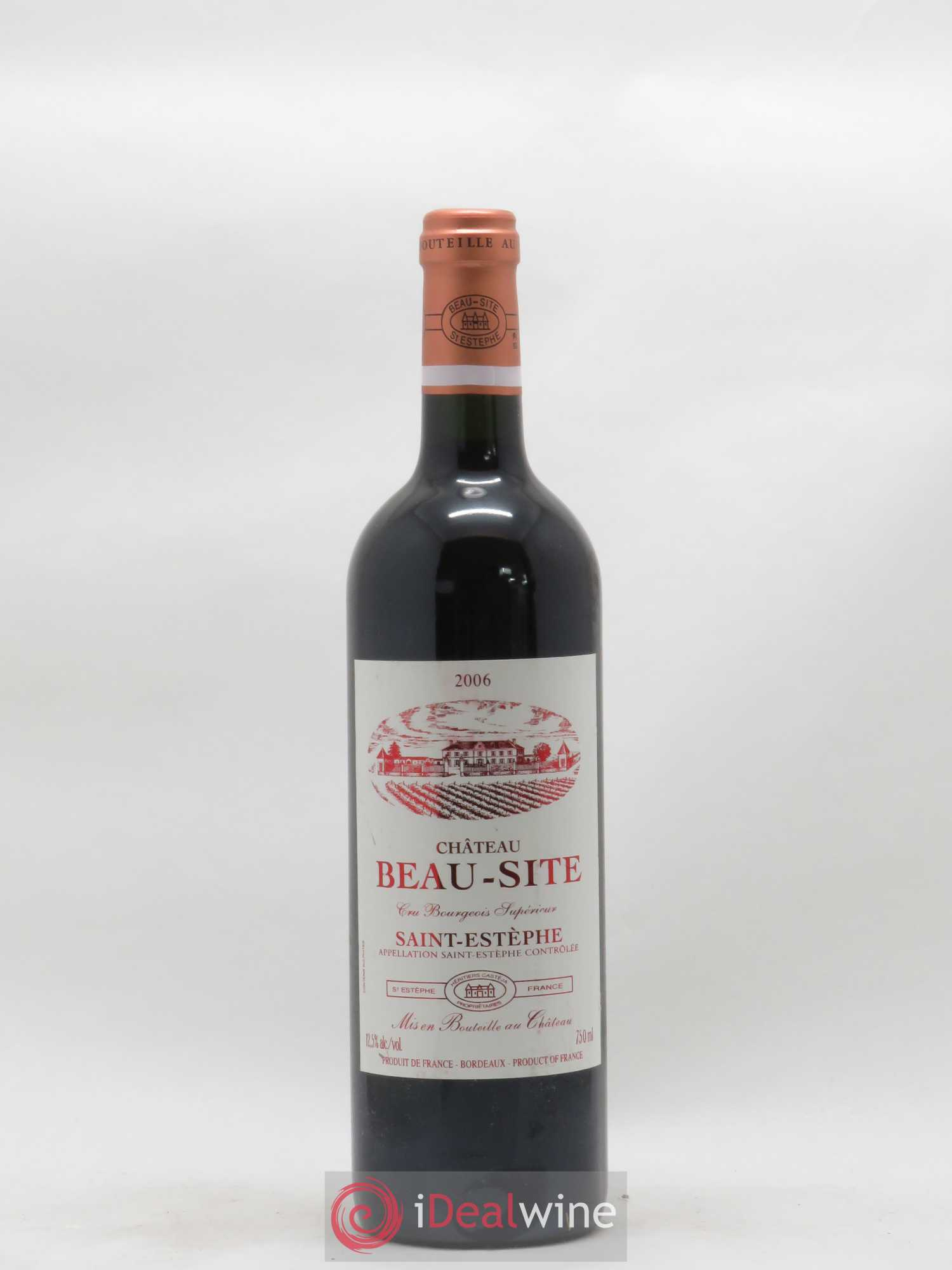 Château Beau Site Cru Bourgeois (no reserve) 2006 - Lot of 1 Bottle