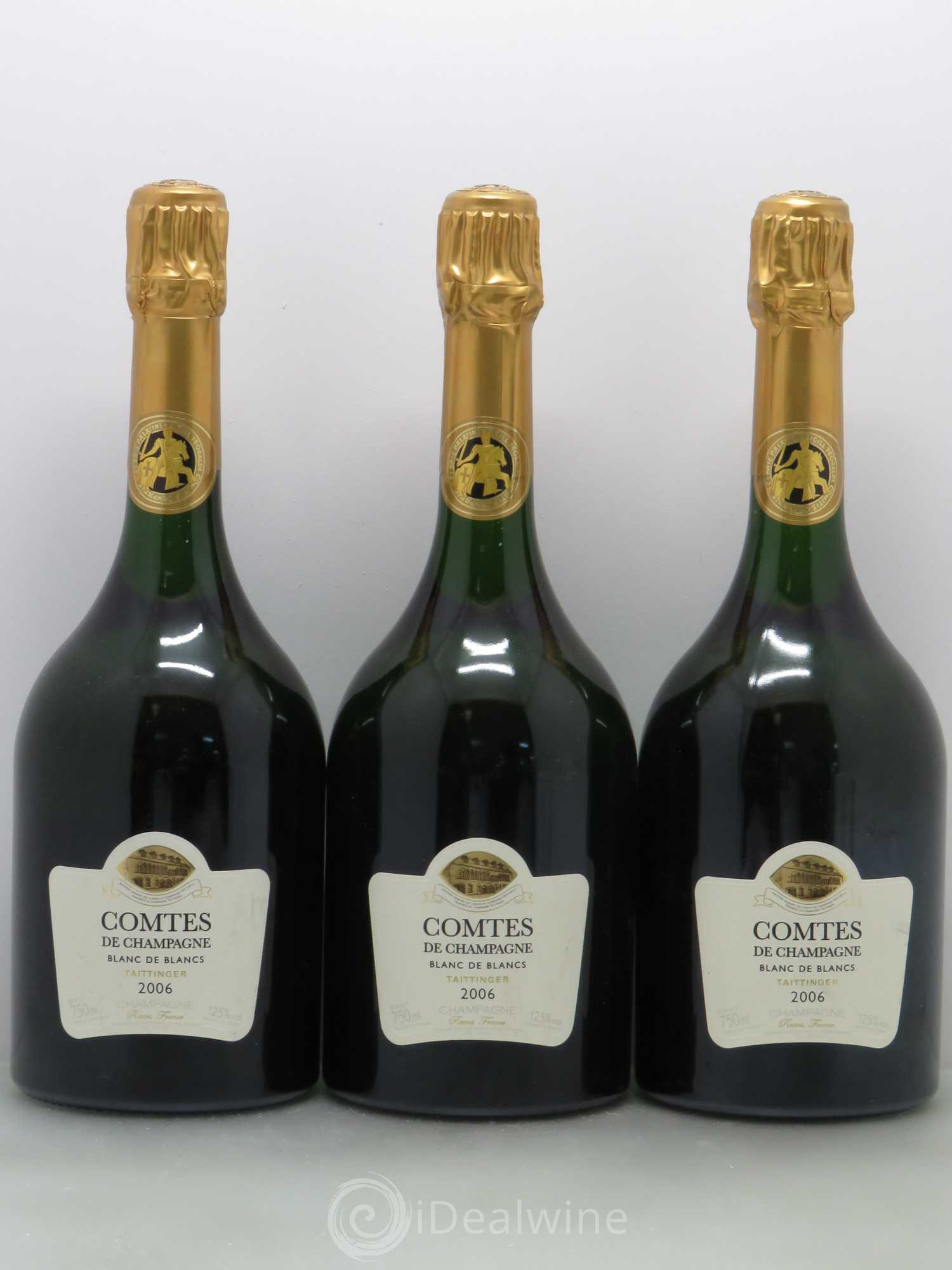 acheter comtes de champagne champagne taittinger 2006 lot 2044. Black Bedroom Furniture Sets. Home Design Ideas
