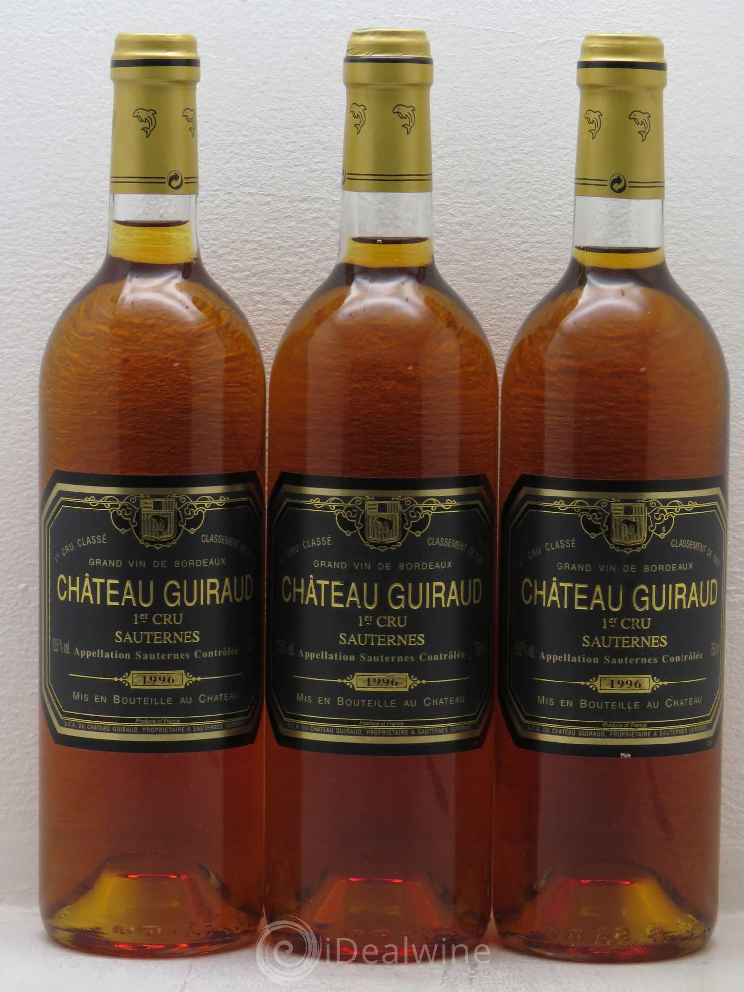 Chteau Guiraud 1er Grand Cru Class 1996