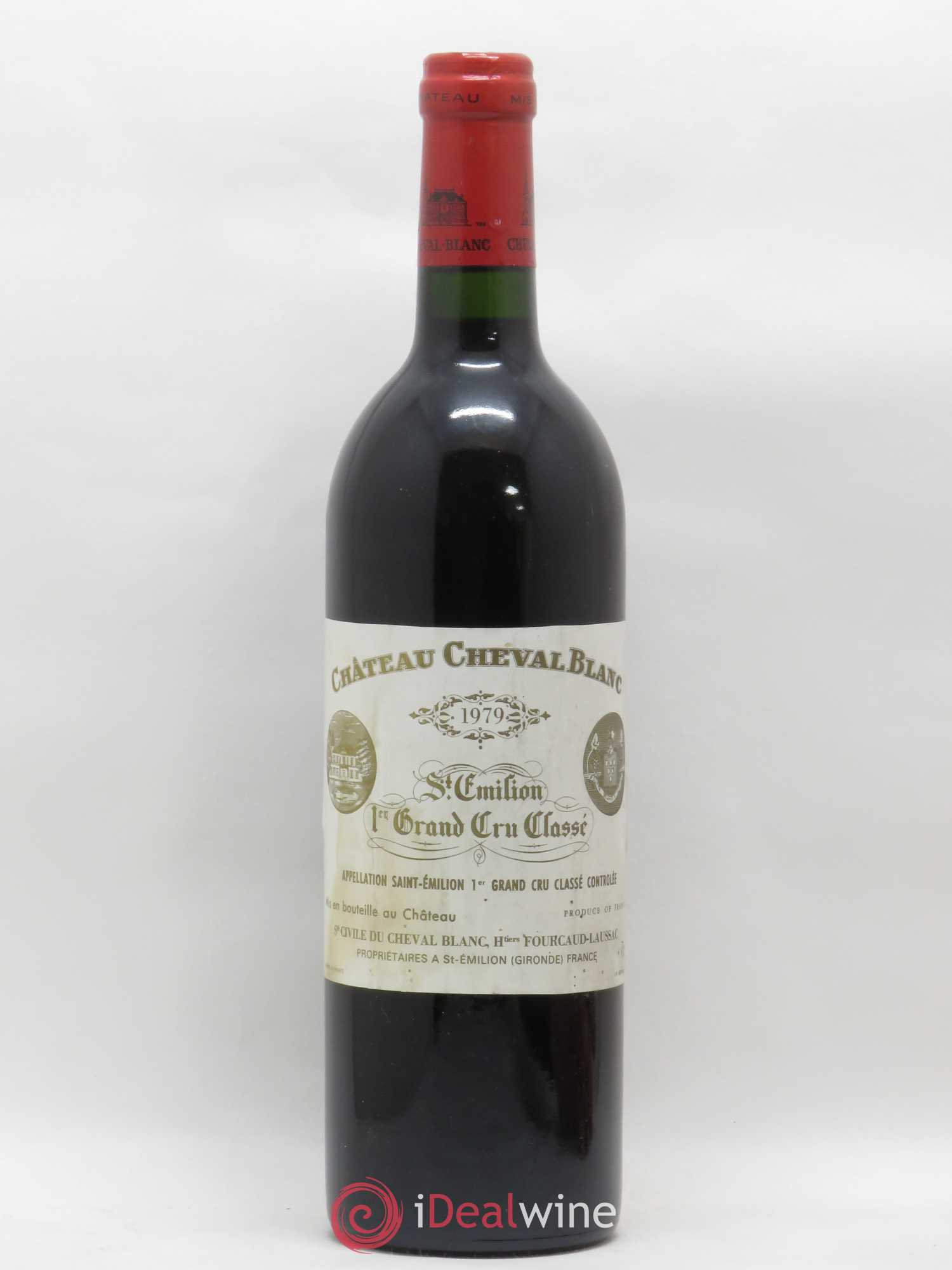 Château Cheval Blanc 1er Grand Cru Classé A  1979 - Lot of 1 Bottle