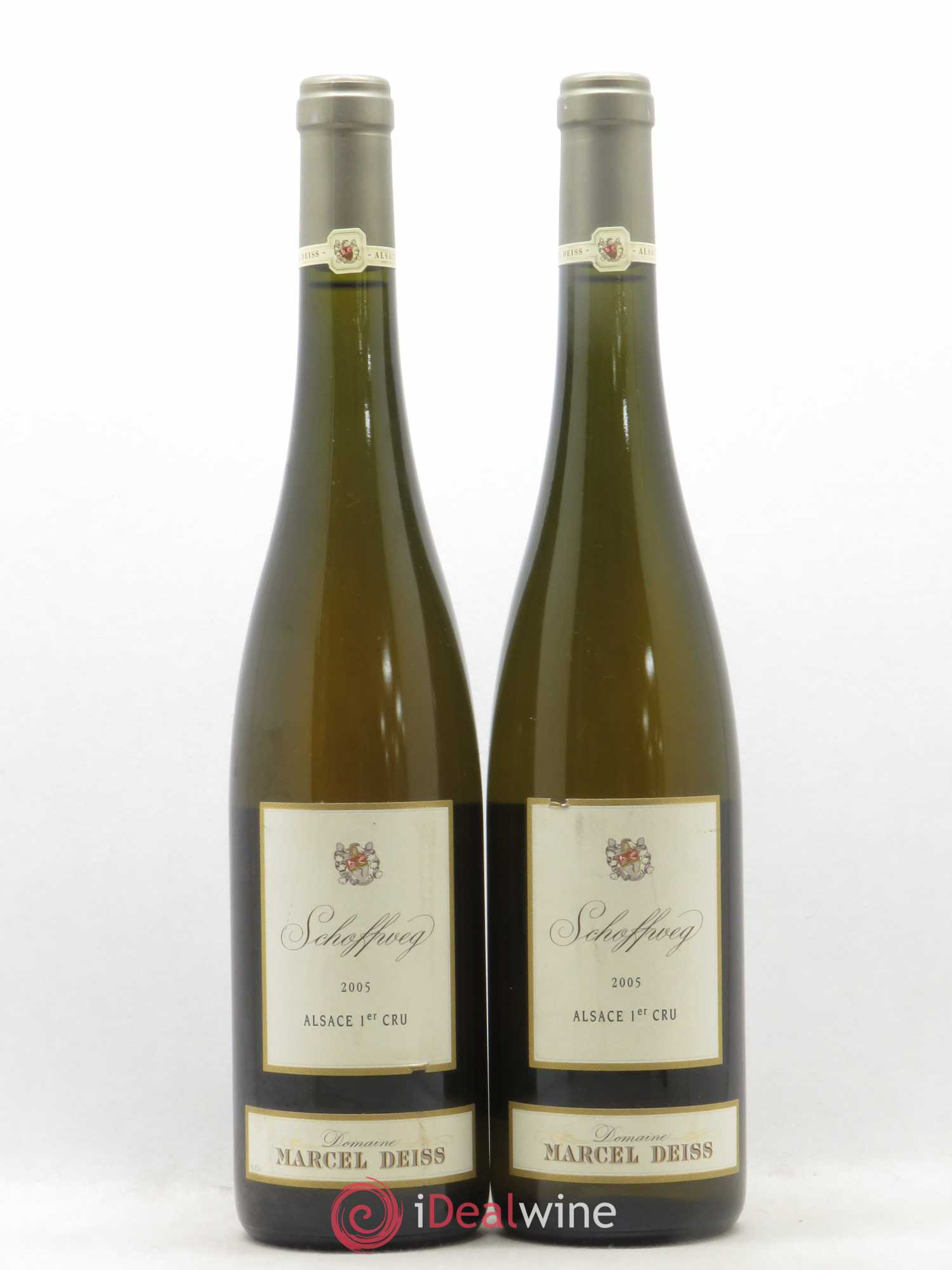 Alsace Schoffweg Marcel Deiss (Domaine)  2005 - Lot of 2 Bottles