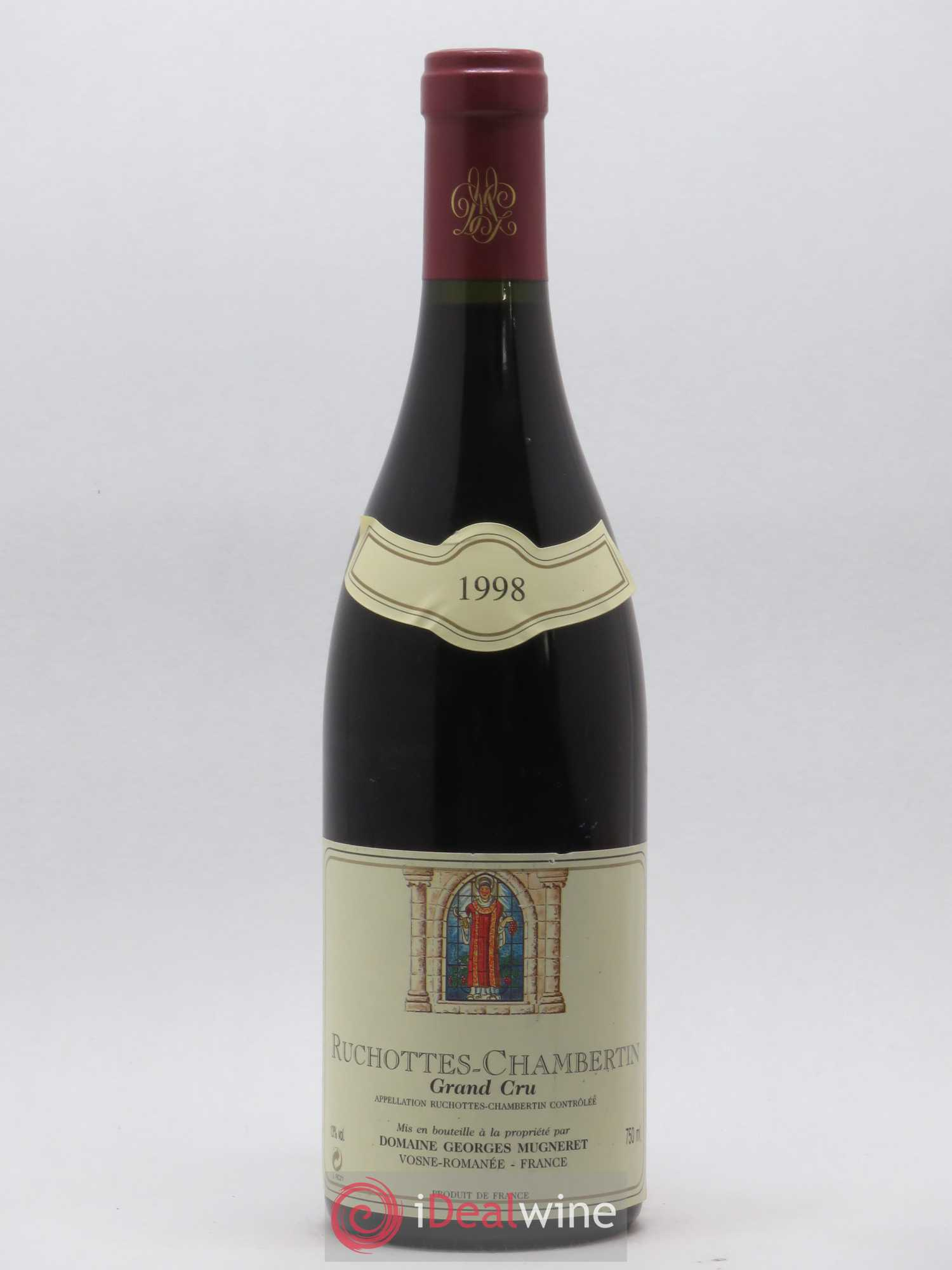 Ruchottes-Chambertin Grand Cru Georges Mugneret (Domaine)  1998 - Lot of 1 Bottle
