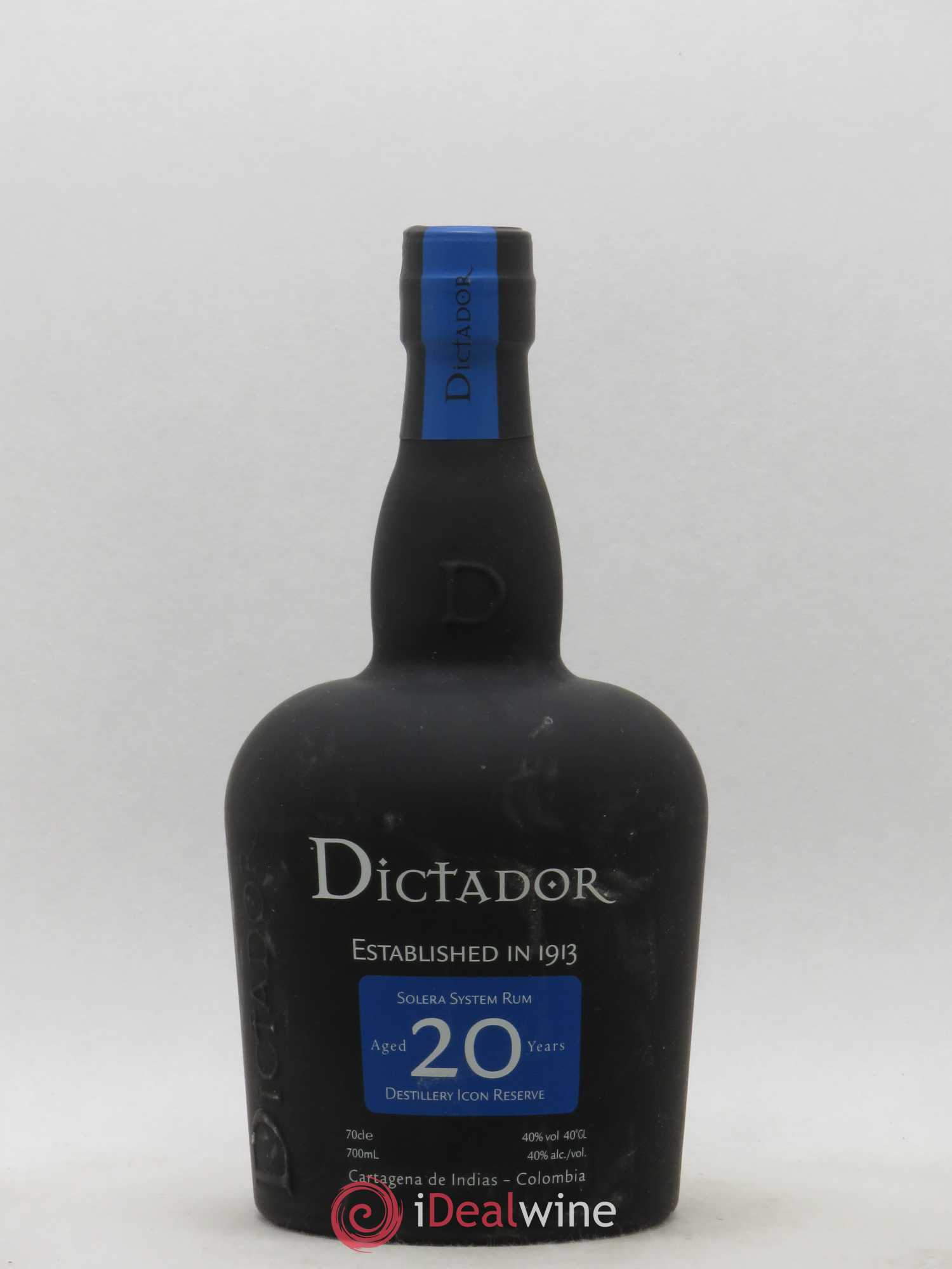 Rhum Colombie Dictador Solera System 20 ans  - Lot of 1 Bottle