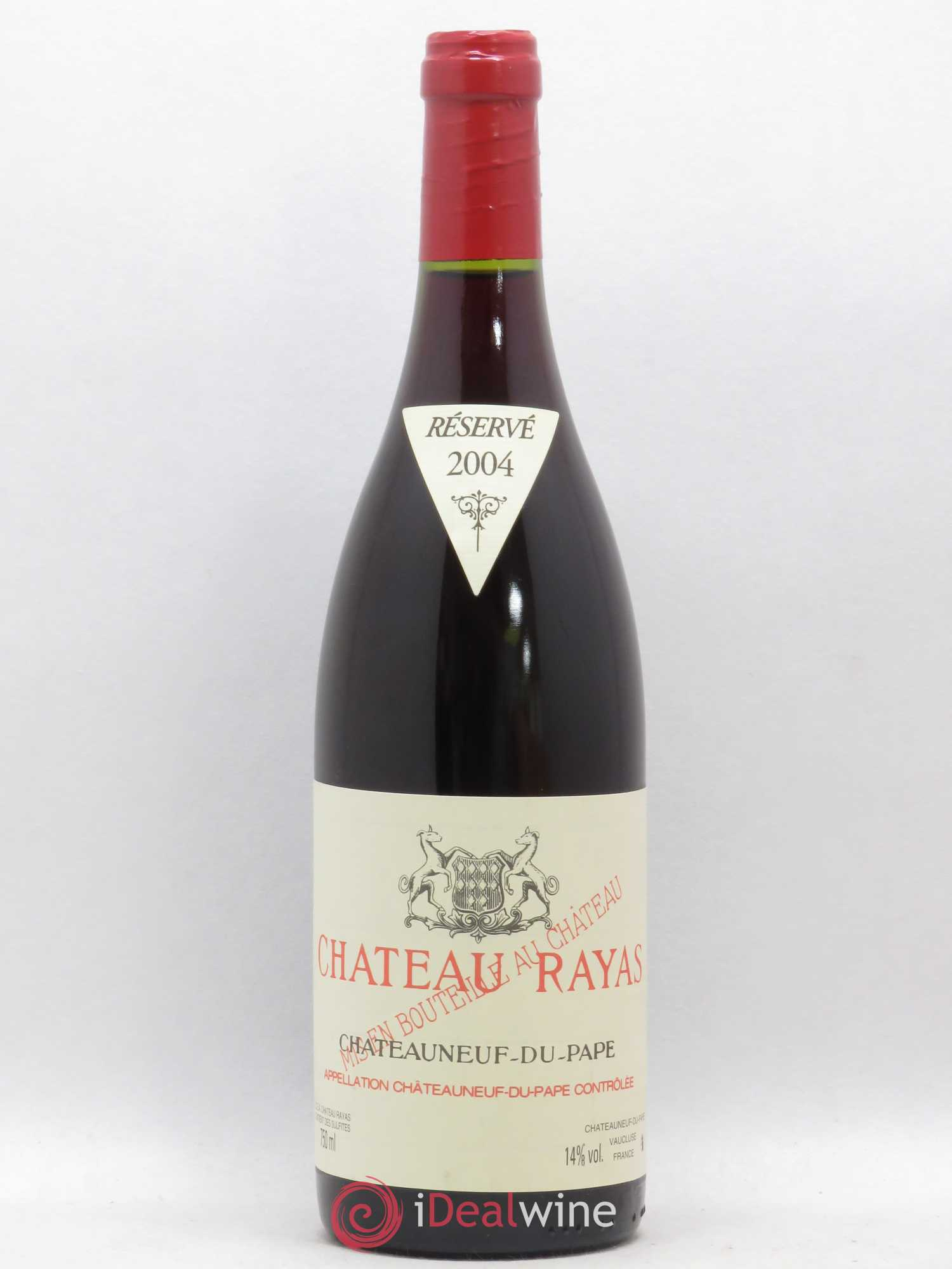 Châteauneuf-du-Pape Château Rayas Reynaud  2004 - Lot of 1 Bottle